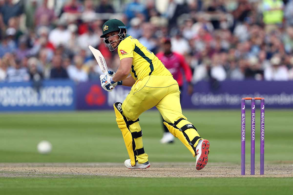 Finch hit a solid 78 at Hove // Getty