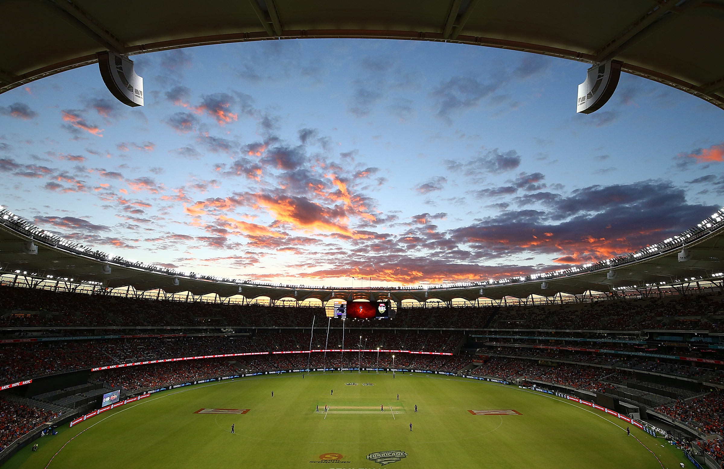 Optus Stadium will host seven Scorchers games // Getty