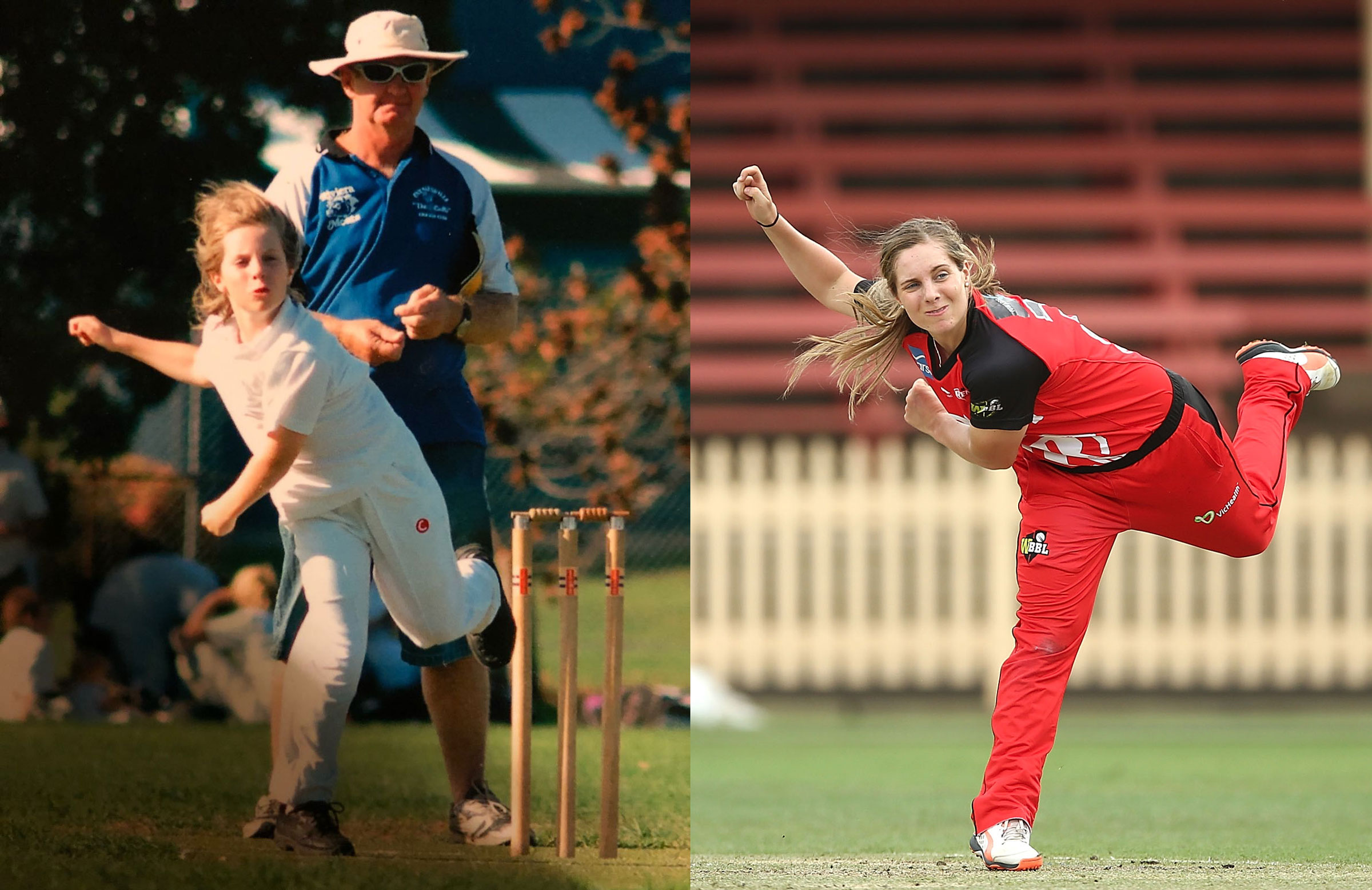 Then and now: Sophie Molineux