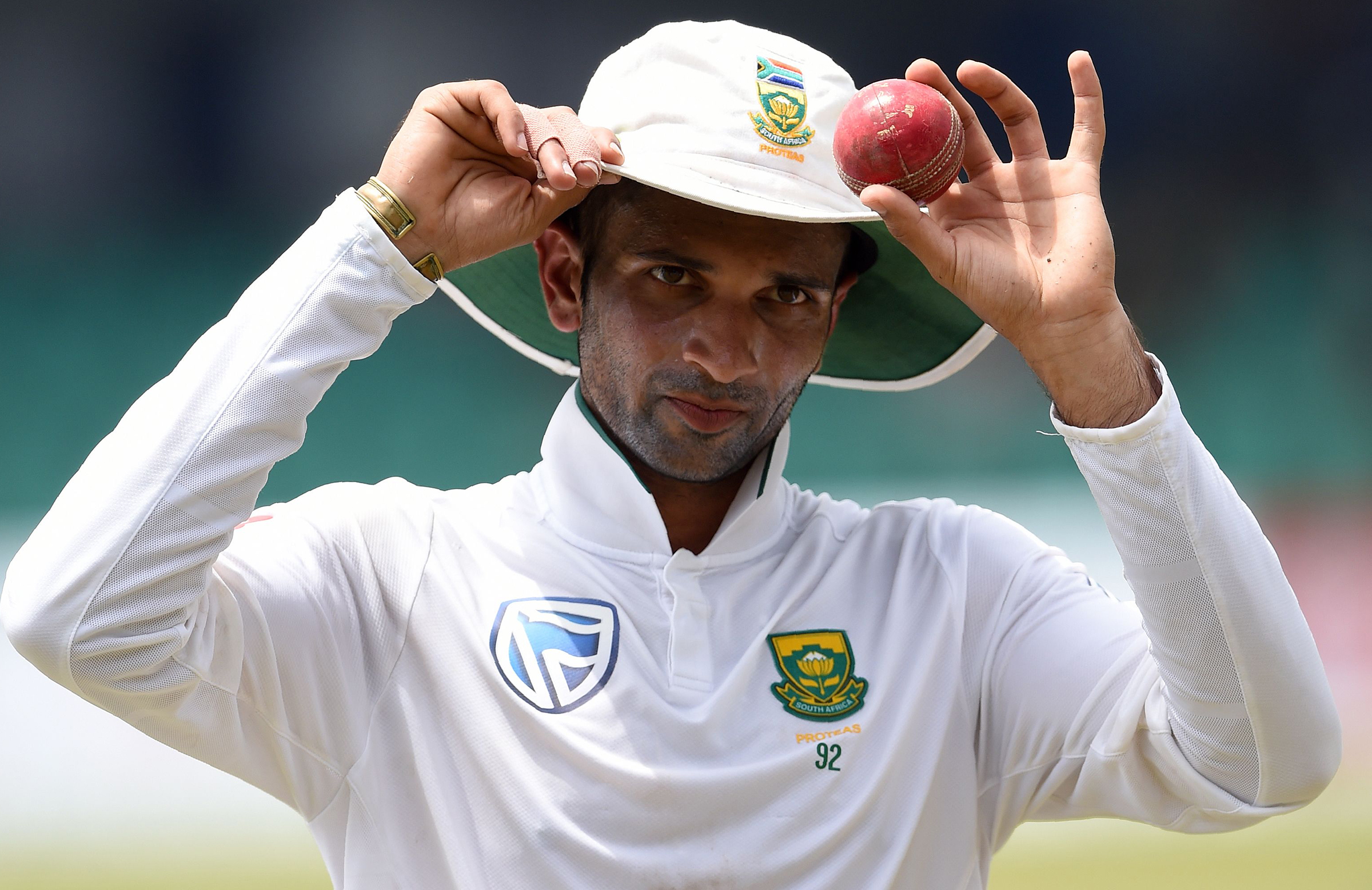 Maharaj's haul was the second best in South Africa's history // Getty