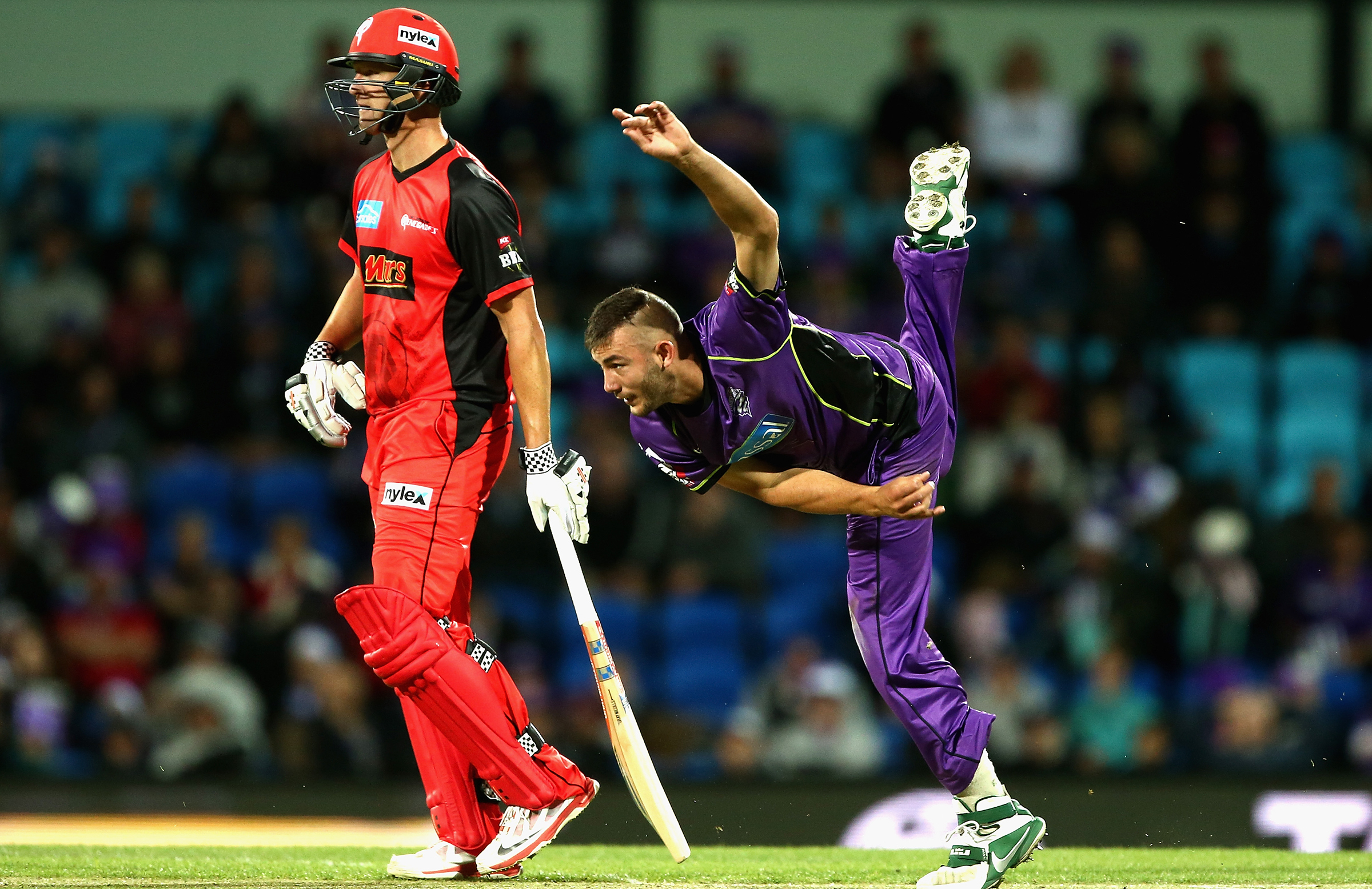 Summers on his BBL debut with the Hurricanes // Getty