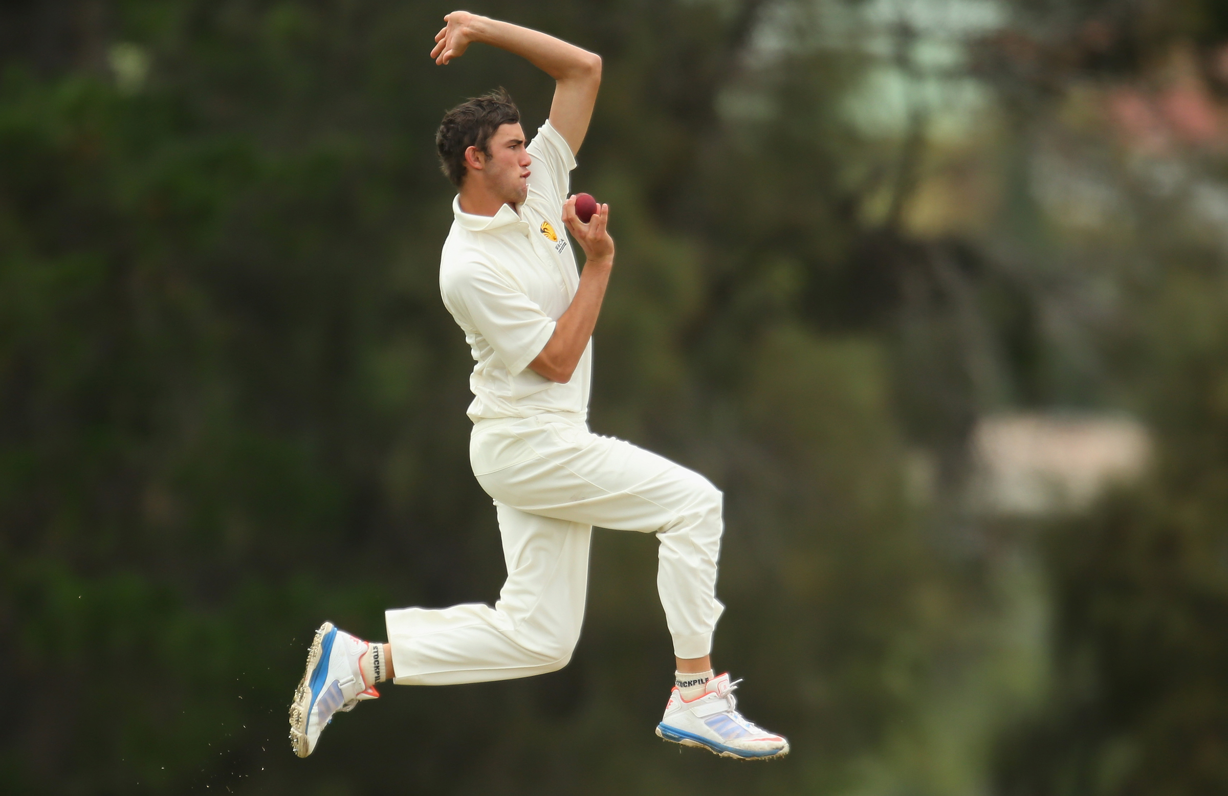 Summers bowls for WA at the 2013 U19 Champs // Getty