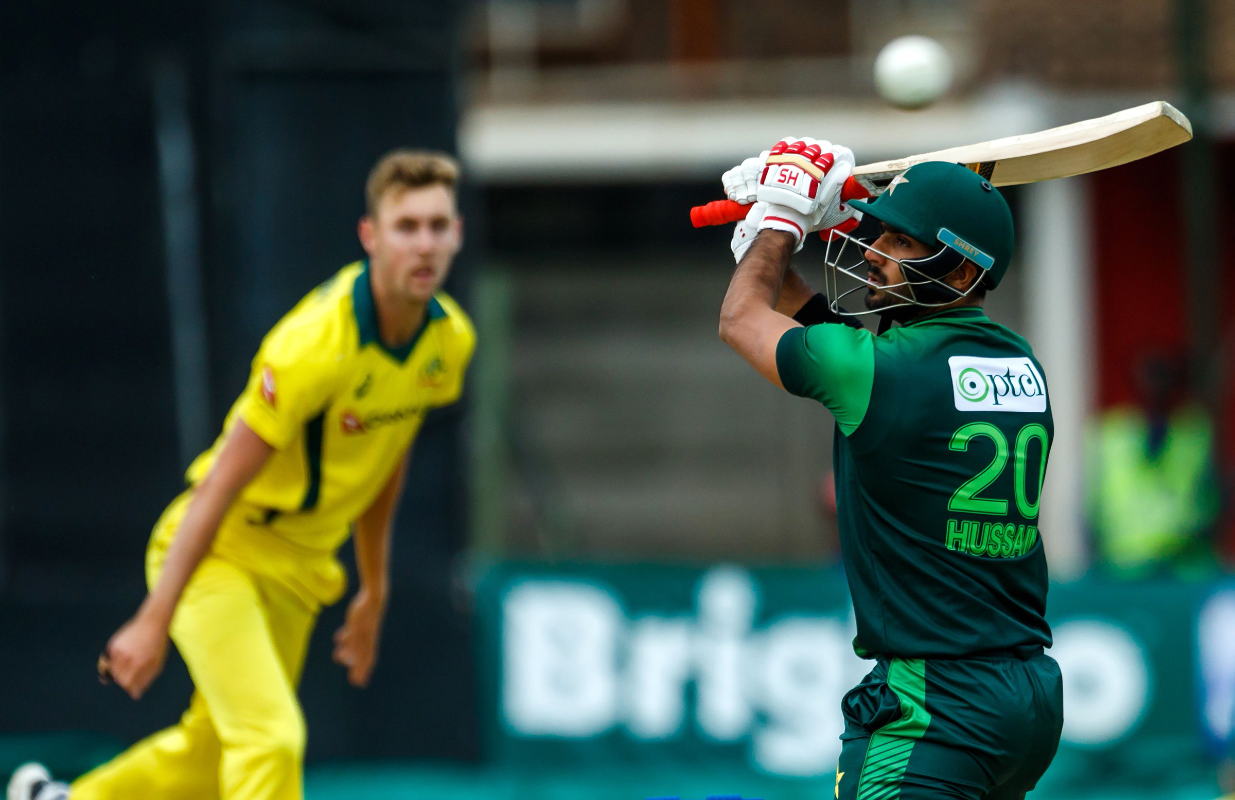 Talat swings and misses off Stanlake // Getty
