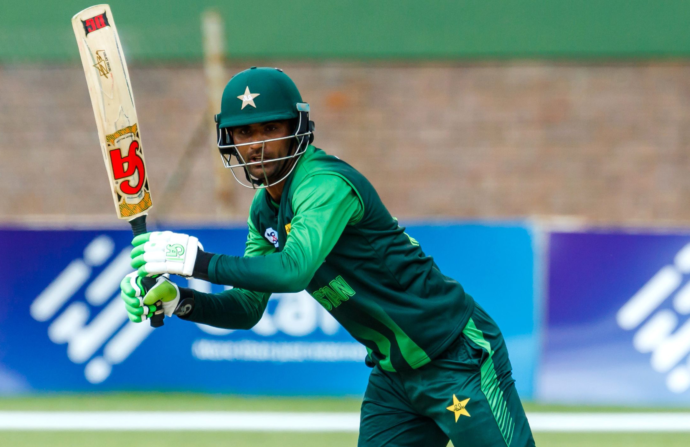 Fakhar crashed 91 off just 46 balls in the final // Getty