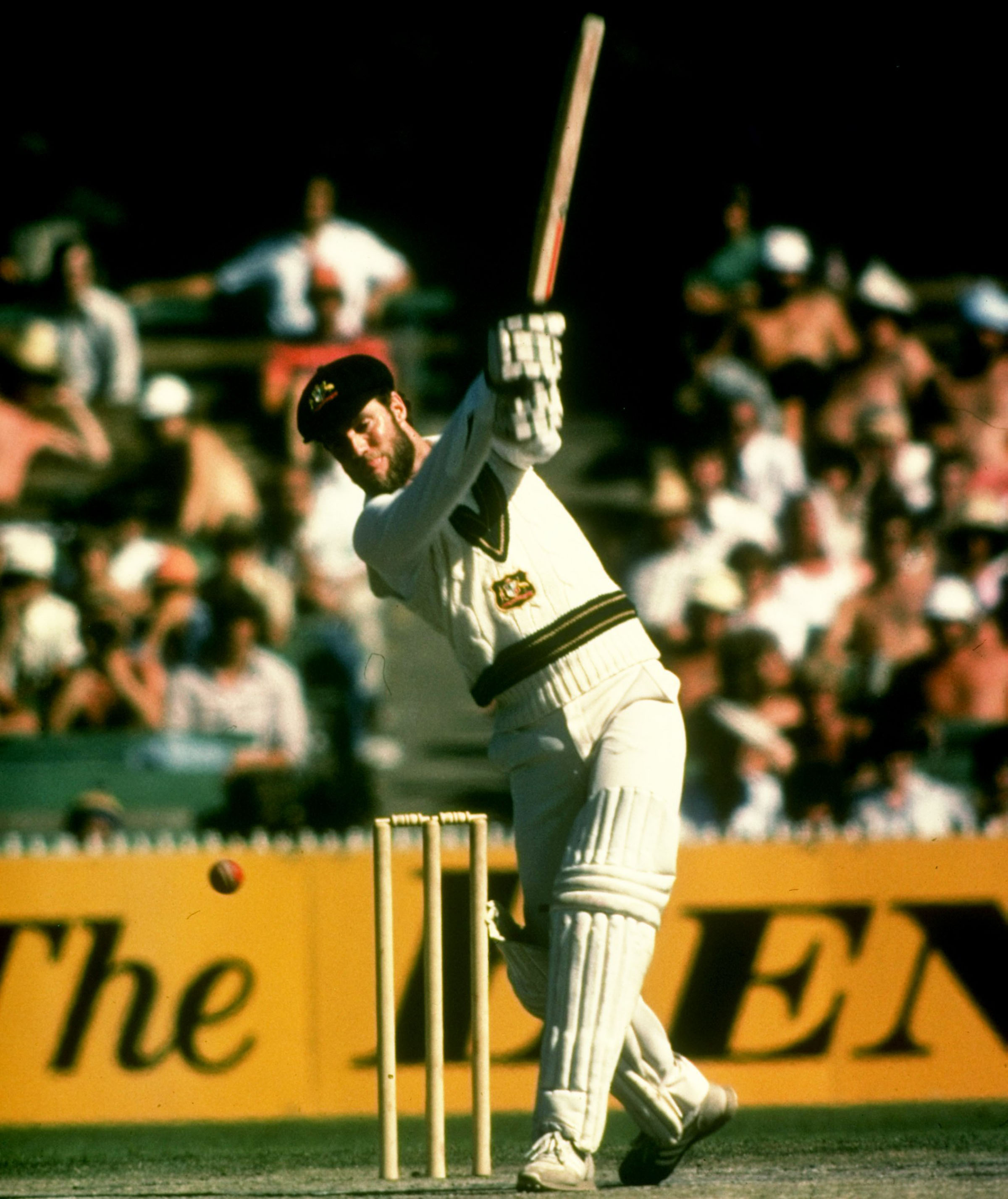 Chappell in full flow, Melbourne 1980 // Getty