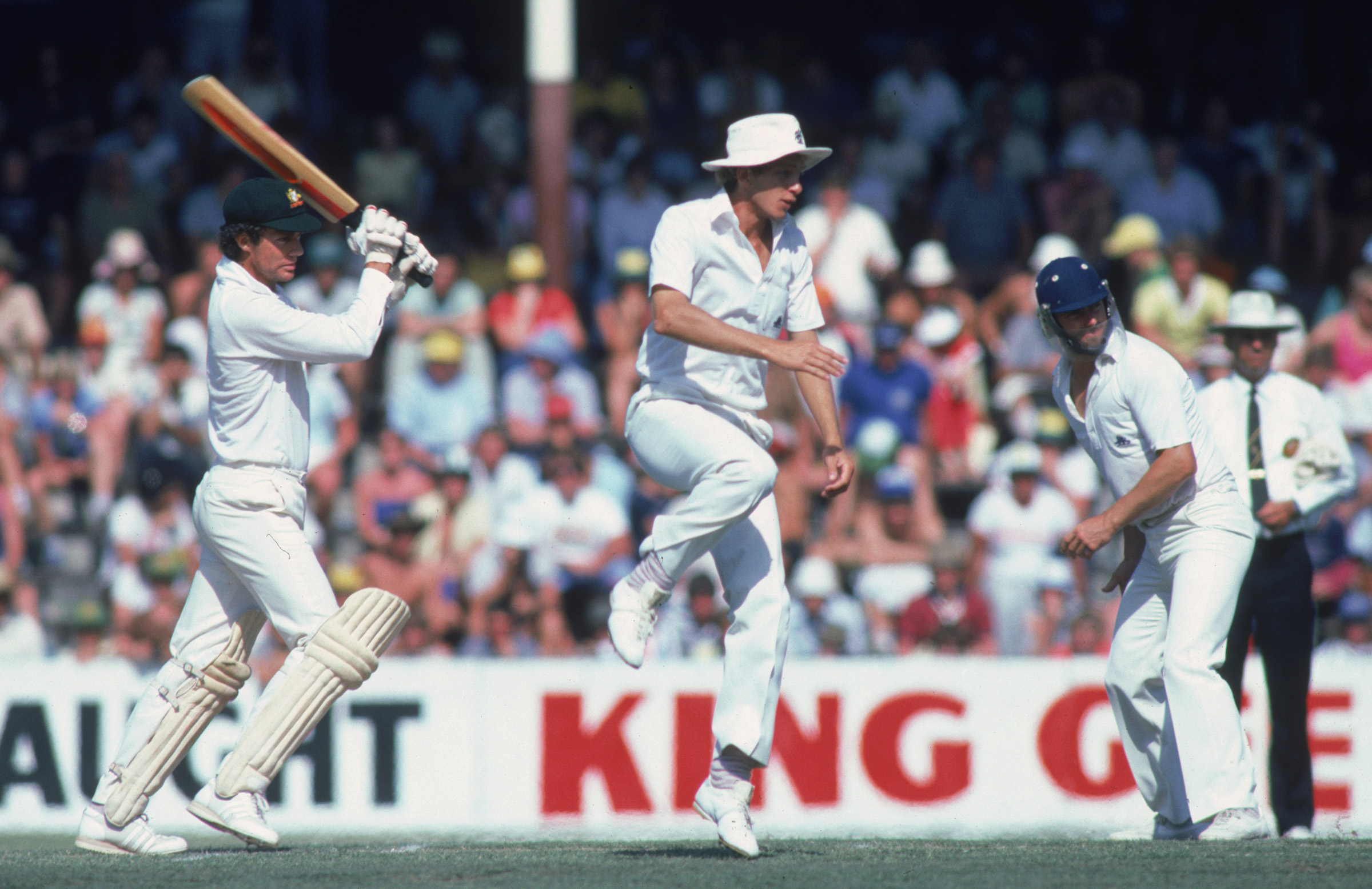 Chappell in action at the WACA in '82 // Getty