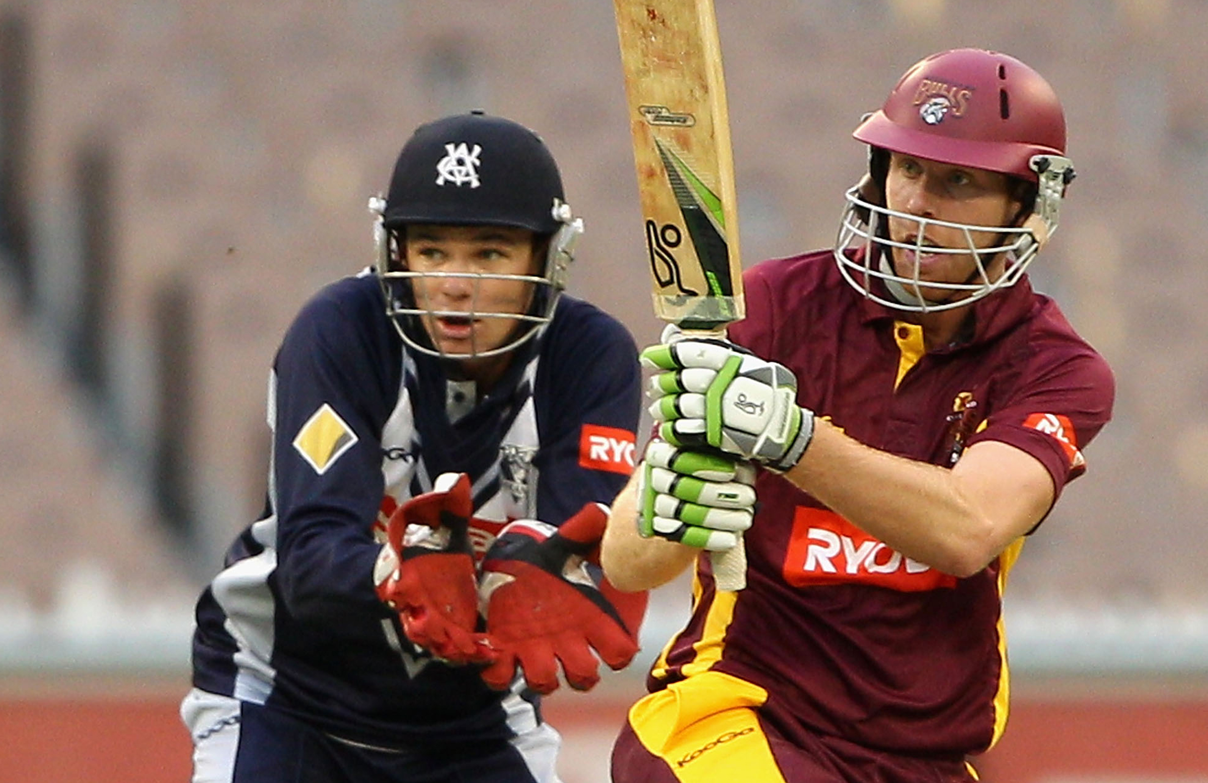 Floros hit 47 off 32 balls in the 2013 domestic one-day final // Getty
