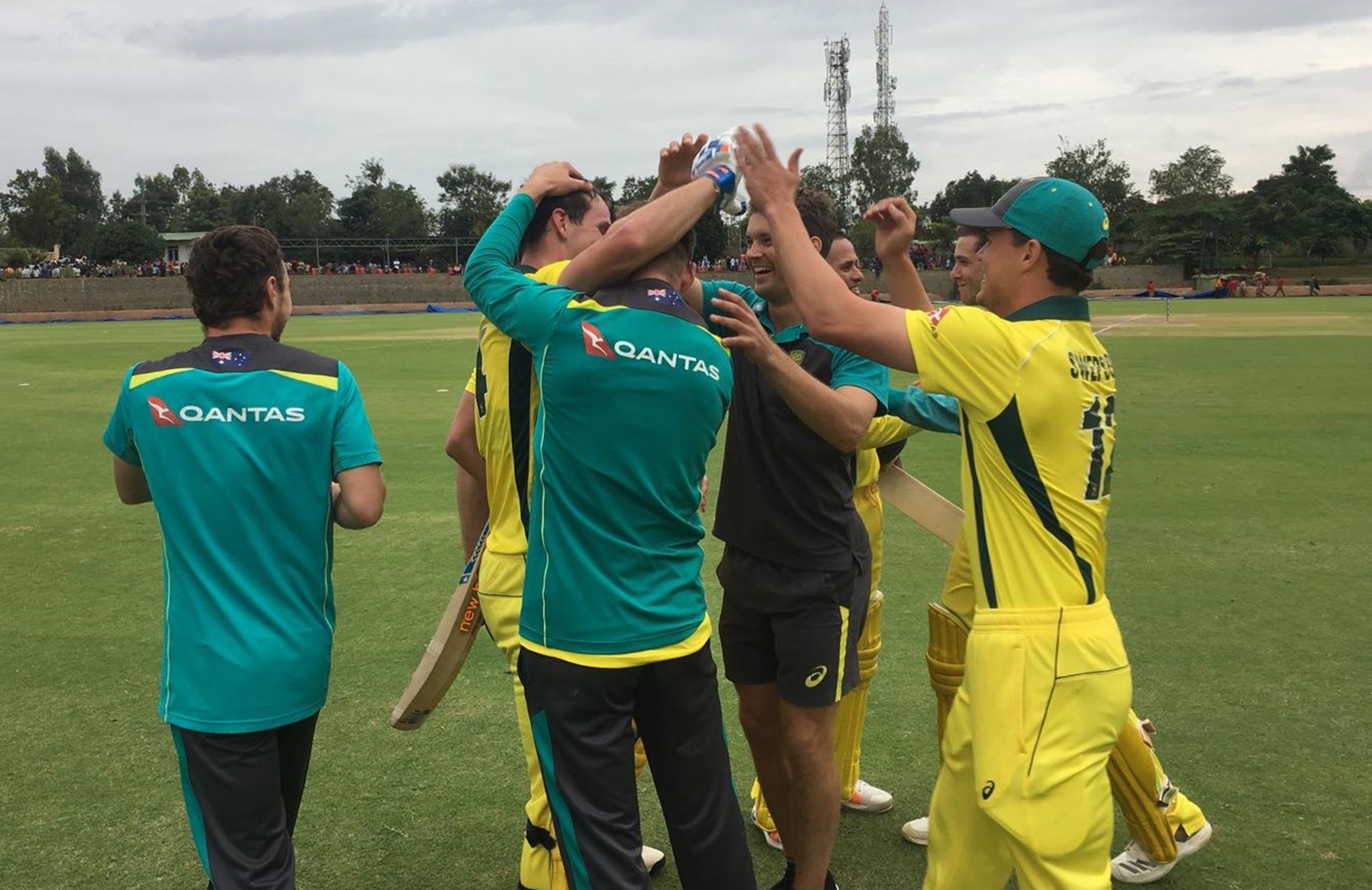 Swamped! // cricket.com.au
