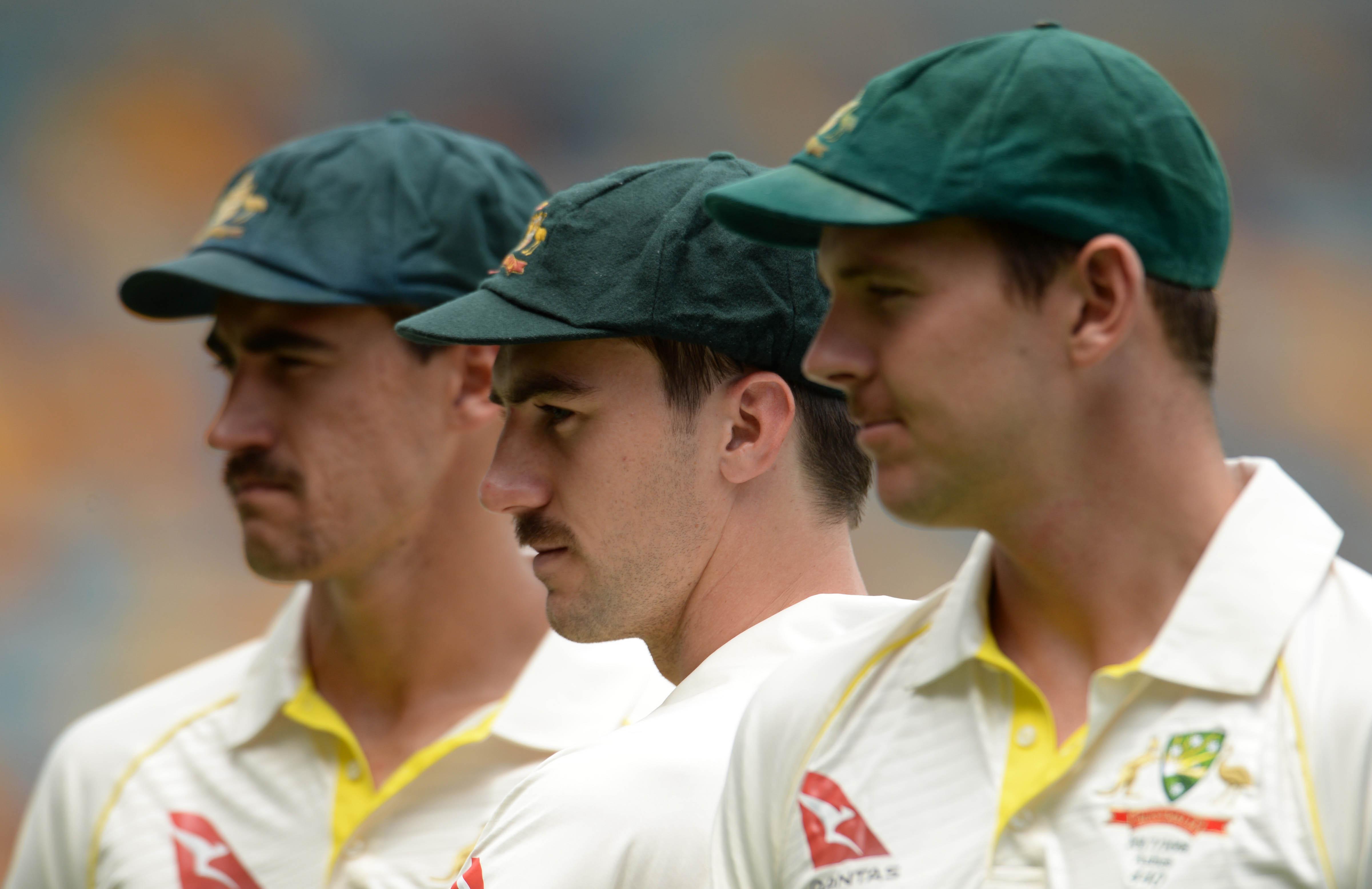Australia's 'big three' Test quicks // Getty