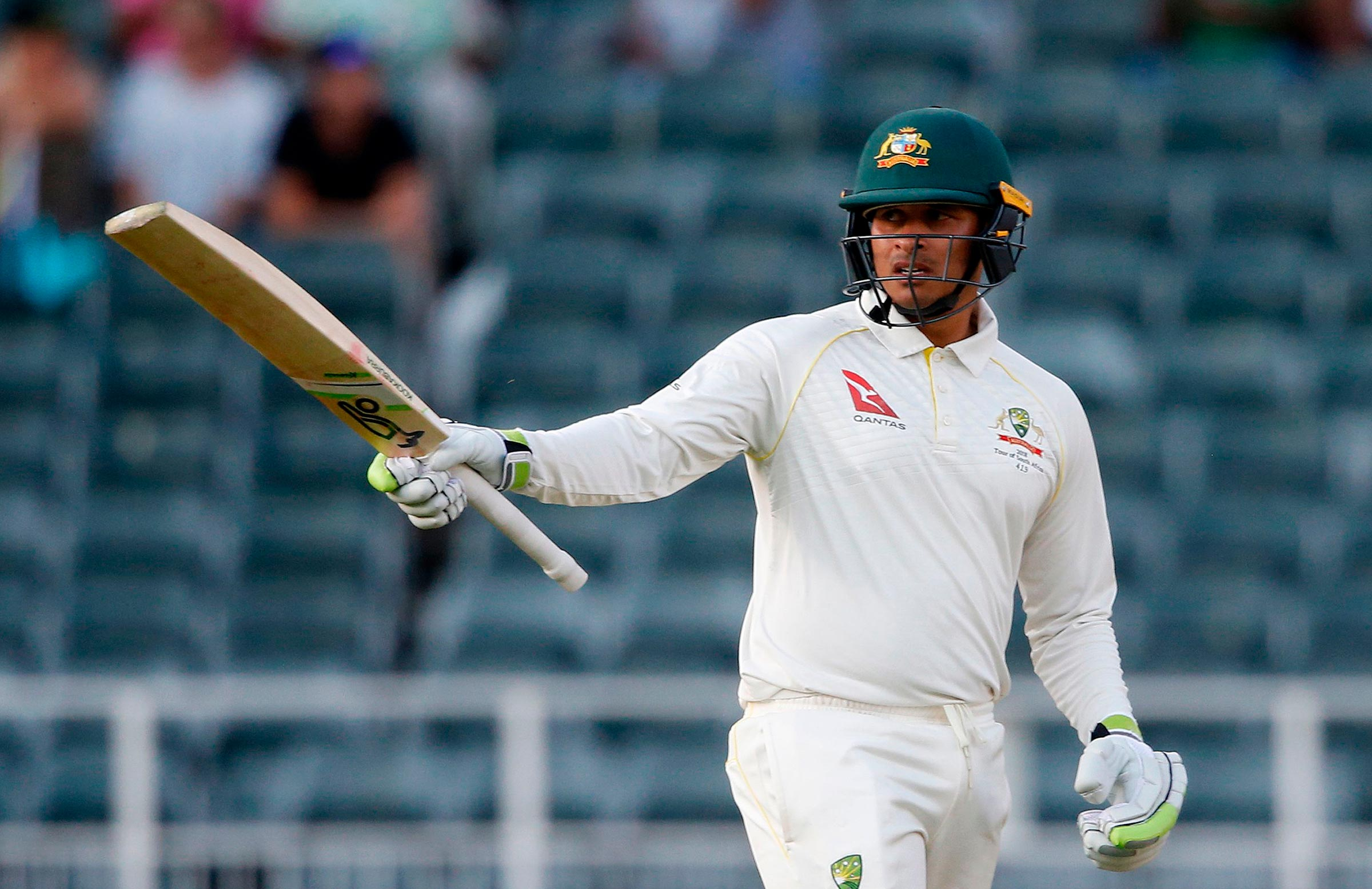 Khawaja looks set to play in the first Test in Dubai // Getty
