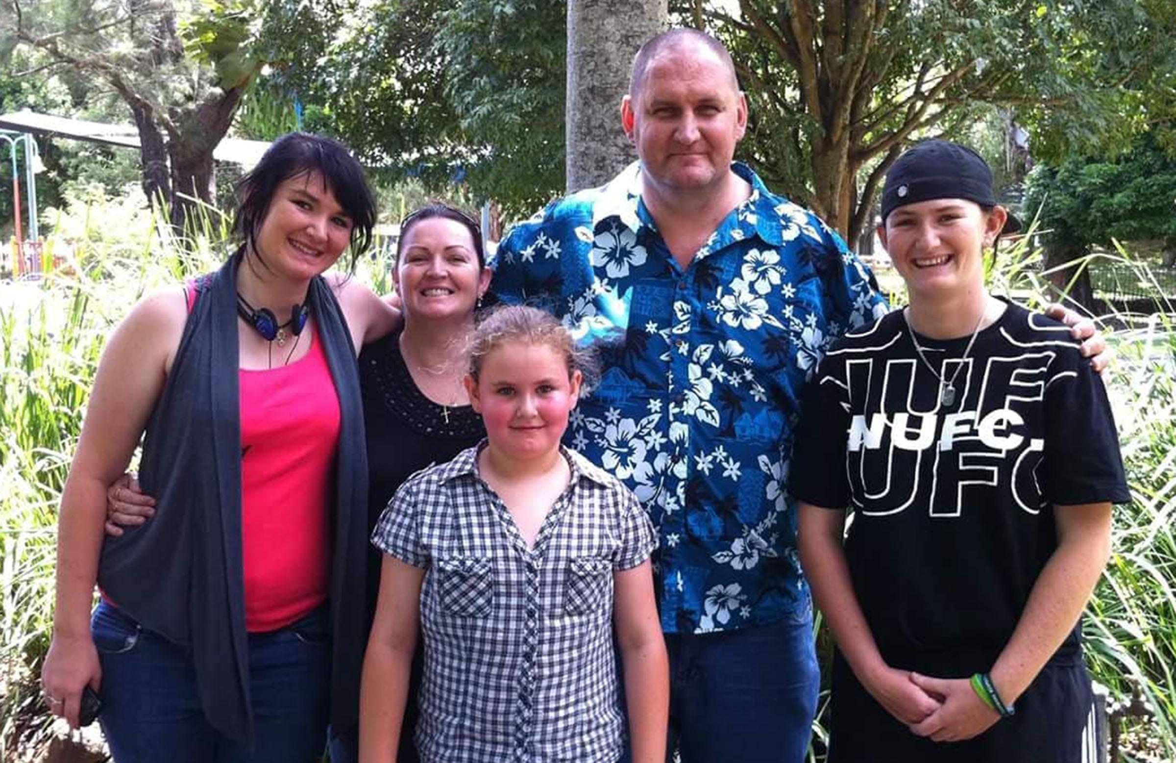 The last complete Johnson family photo