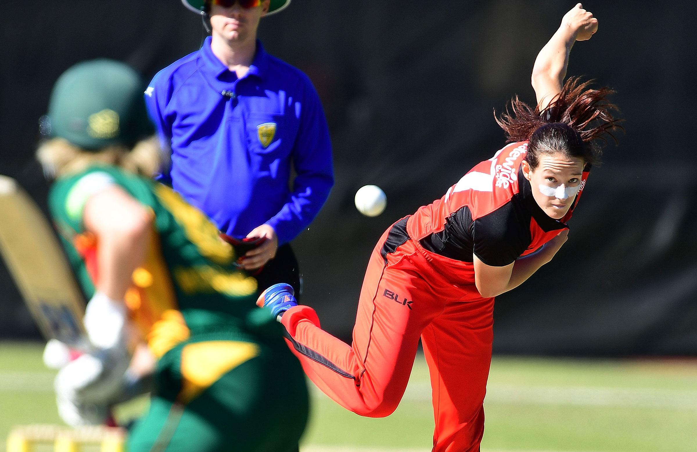Megan Schutt is the new South Australia captain // Getty