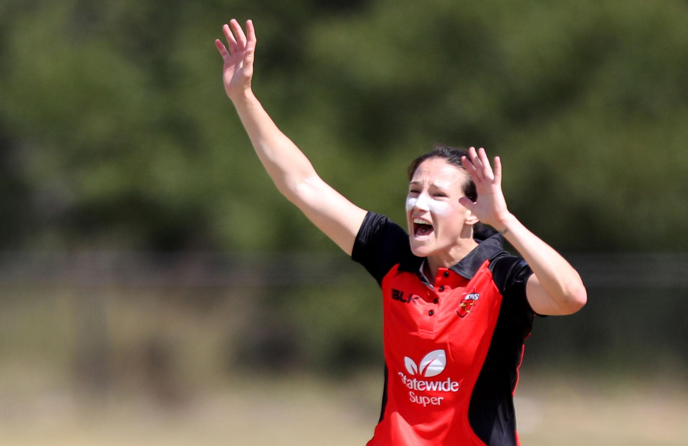South Australia skipper Megan Schutt will be a key part of Australia's bowling attack // AAP