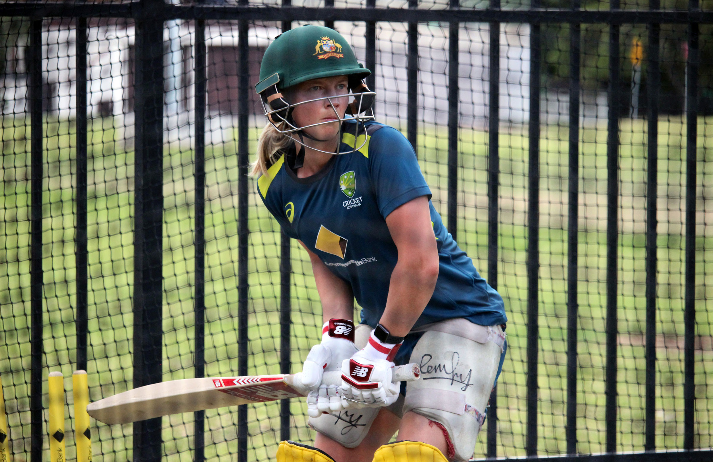 Lanning all focus in the nets // cricket.com.au