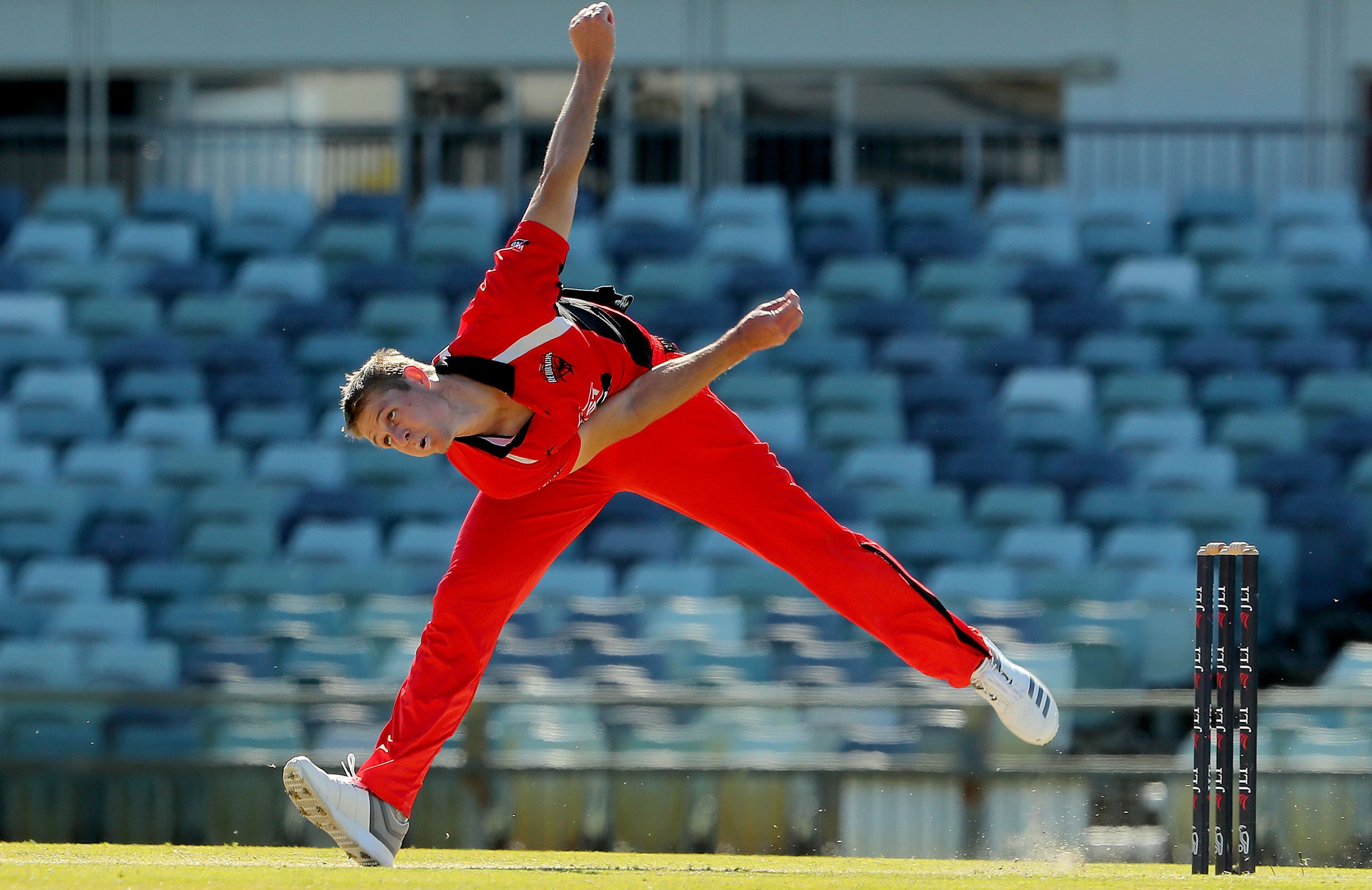 Joe Mennie in action during the JLT Cup