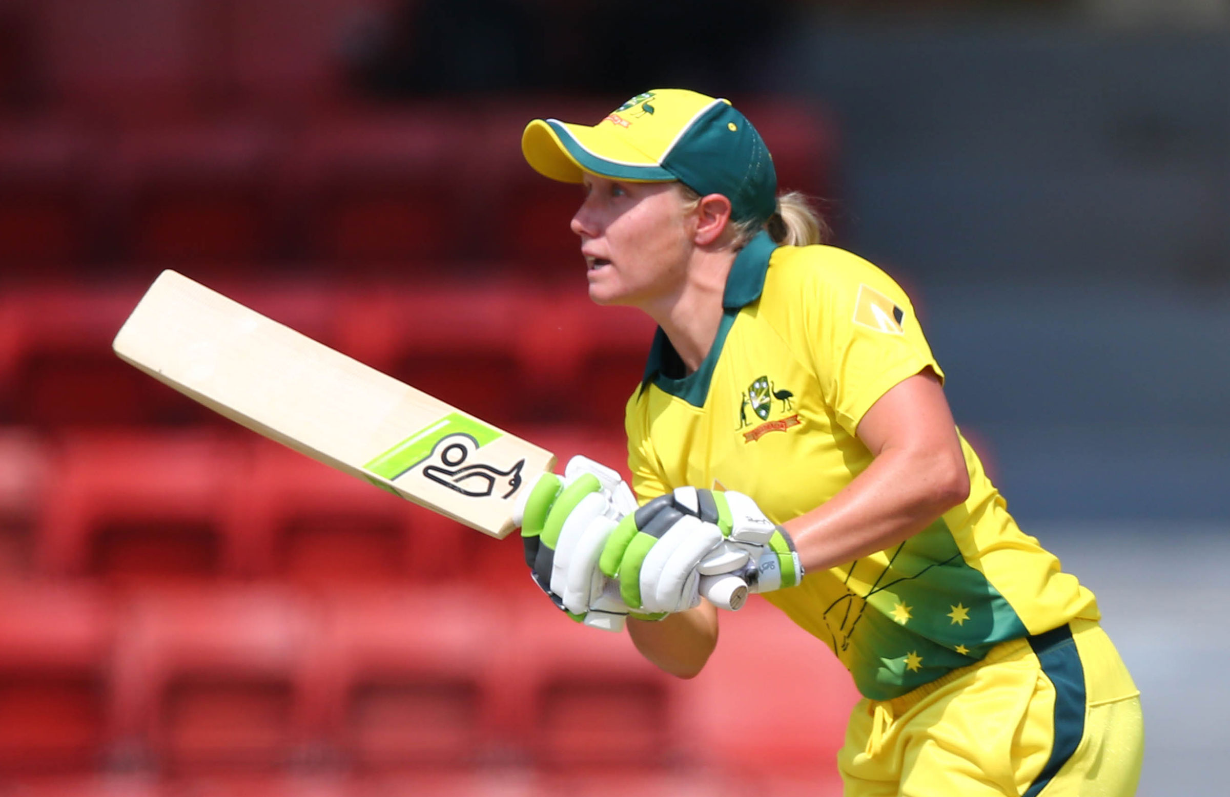 Healy was named player of both the ODI and T20 series // PCB