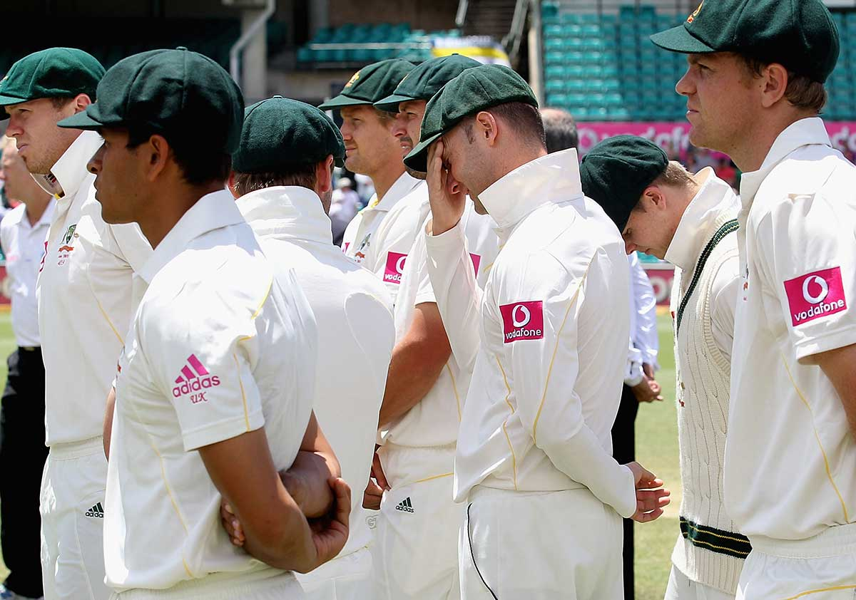 Ashes defeat in 2010-11 led to the Argus Review // Getty