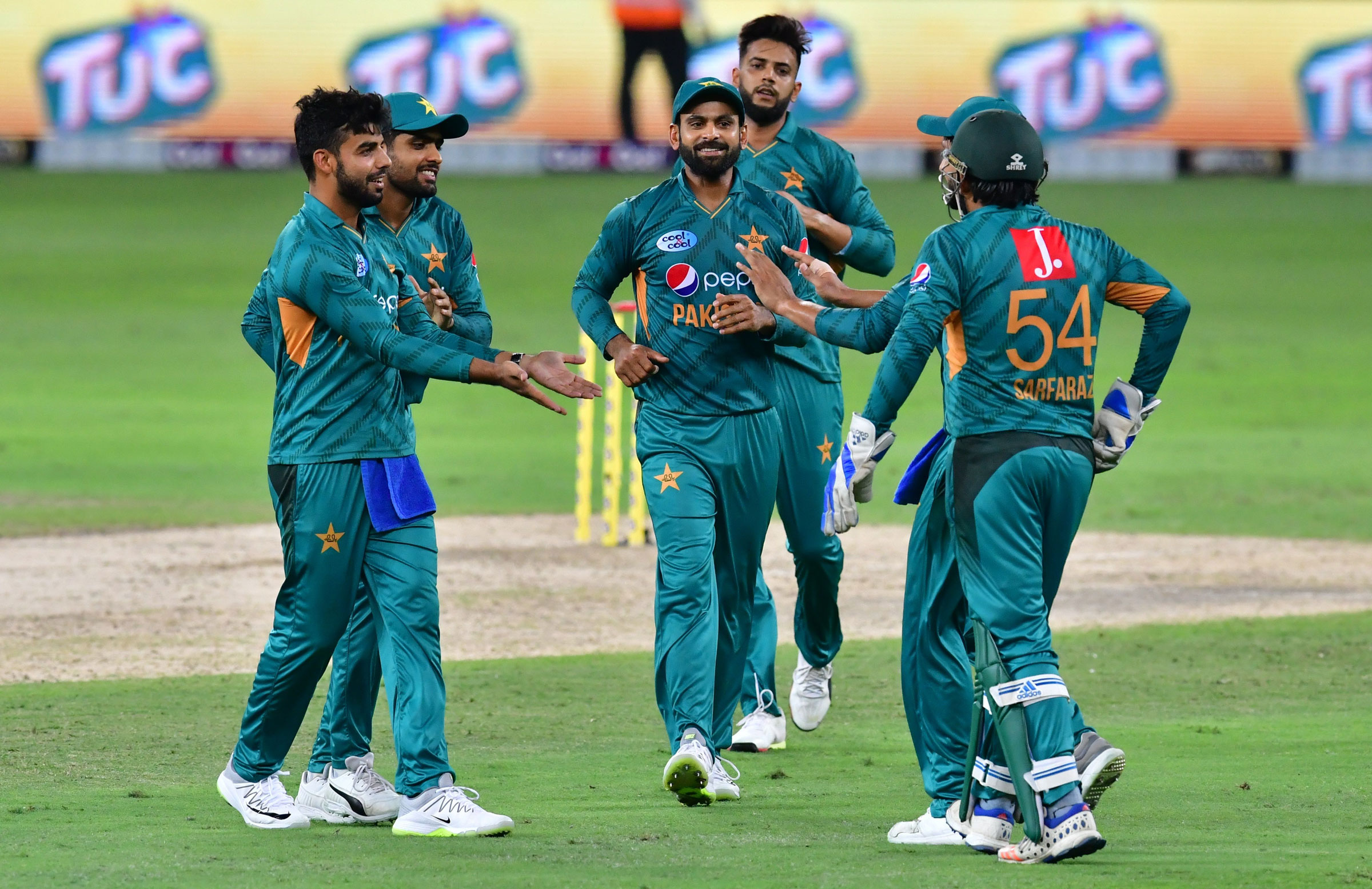 Pakistan's bowlers proved very reliable // Getty Images