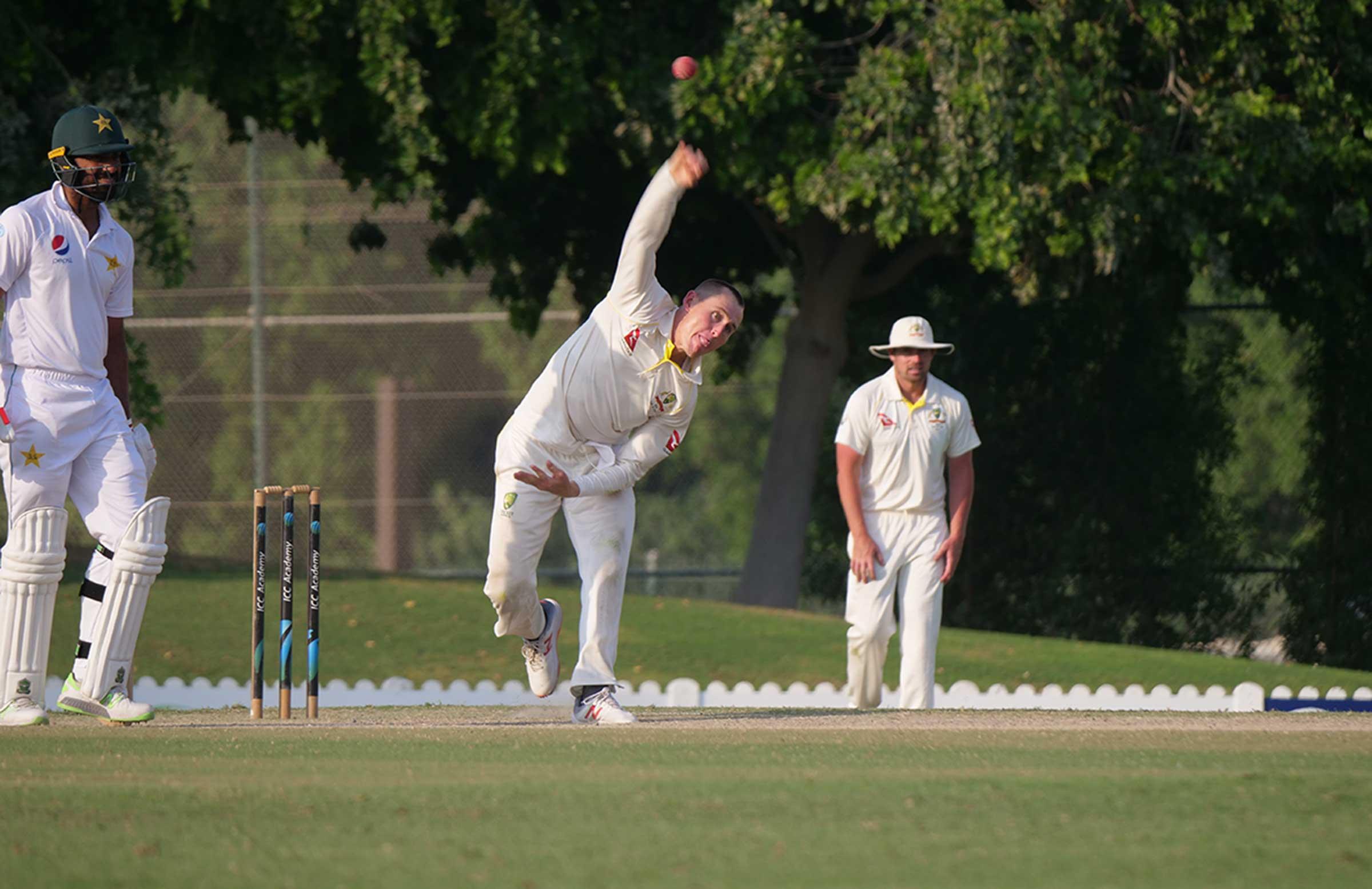 Marnus Labuschagne bowls leg-spin // Cricket Network