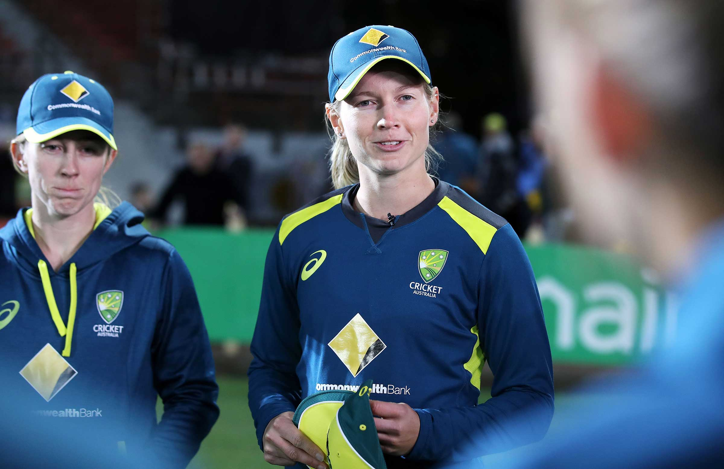 Lanning addresses the T20 squad this month // Getty