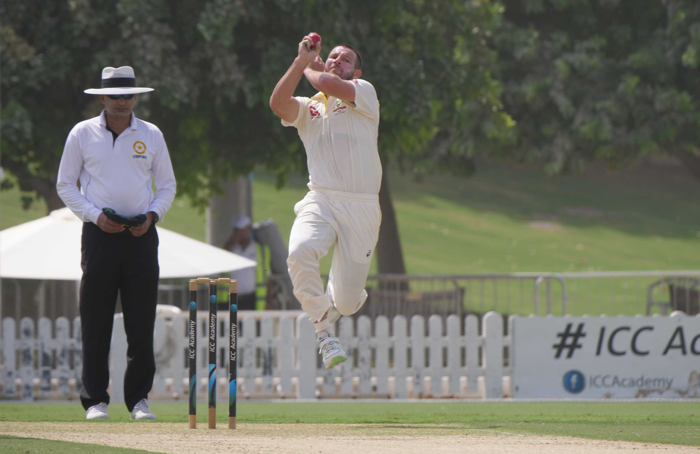 Michael Neser charges in for Australia // Cricket Network