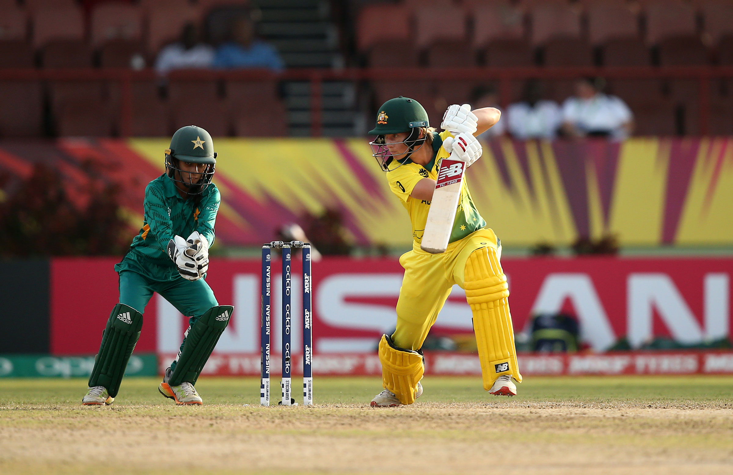 Meg Lanning was in good touch for Australia // Getty Images