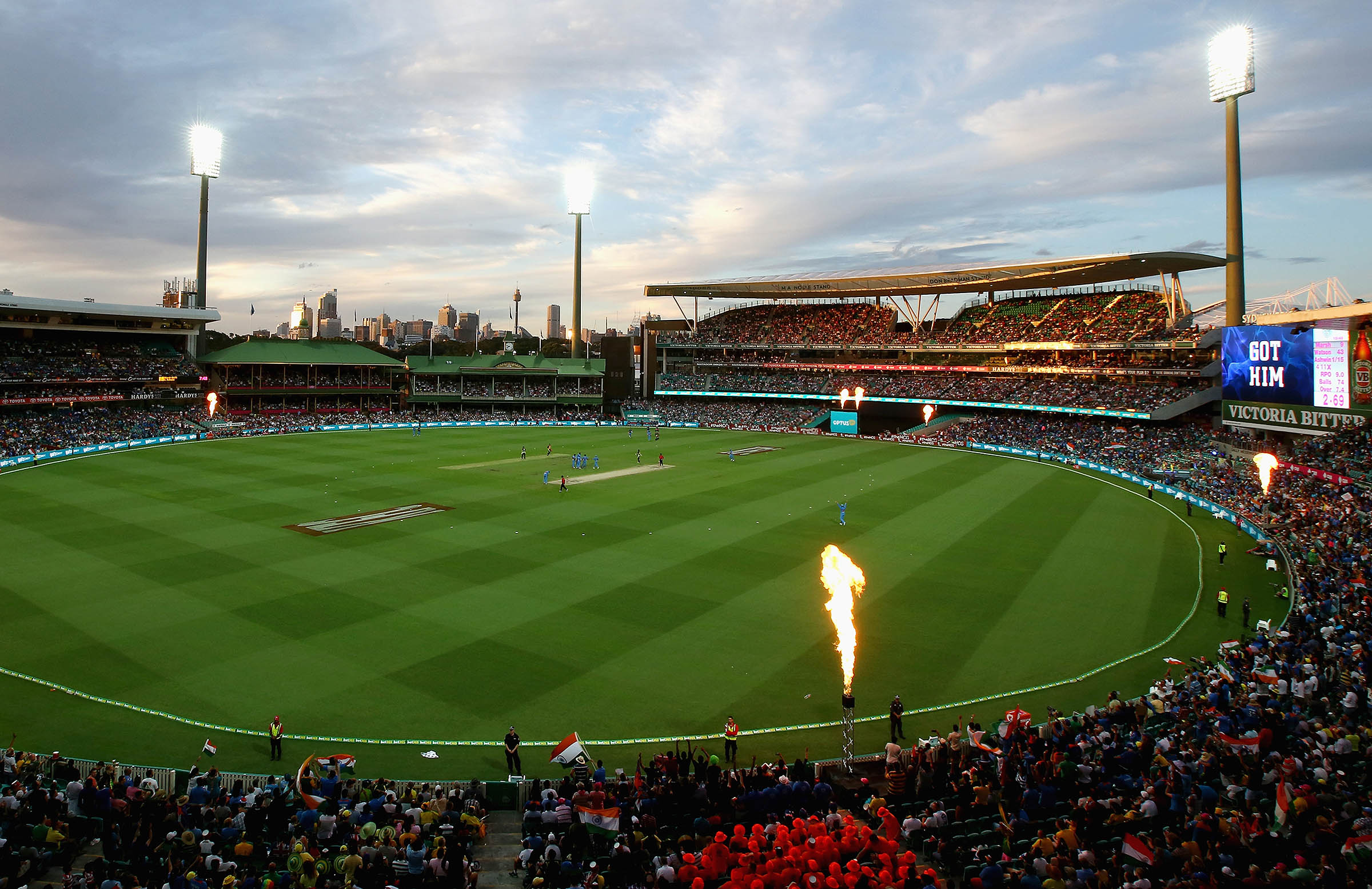 A crowd of 35,000 are expected for Sunday's game at the SCG // Getty