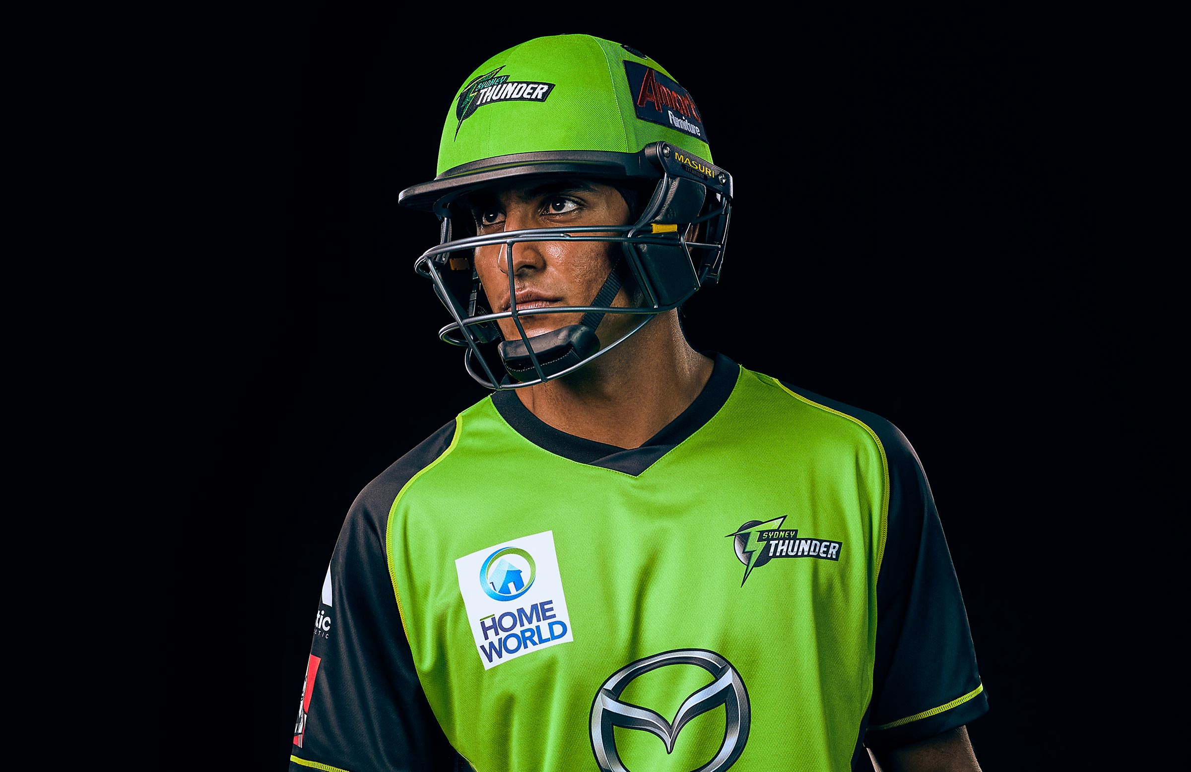 Sangha looking sharp in lime green // Getty