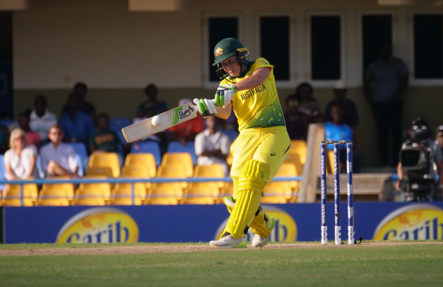 Healy hits out on her way to 46 // Cricket Network