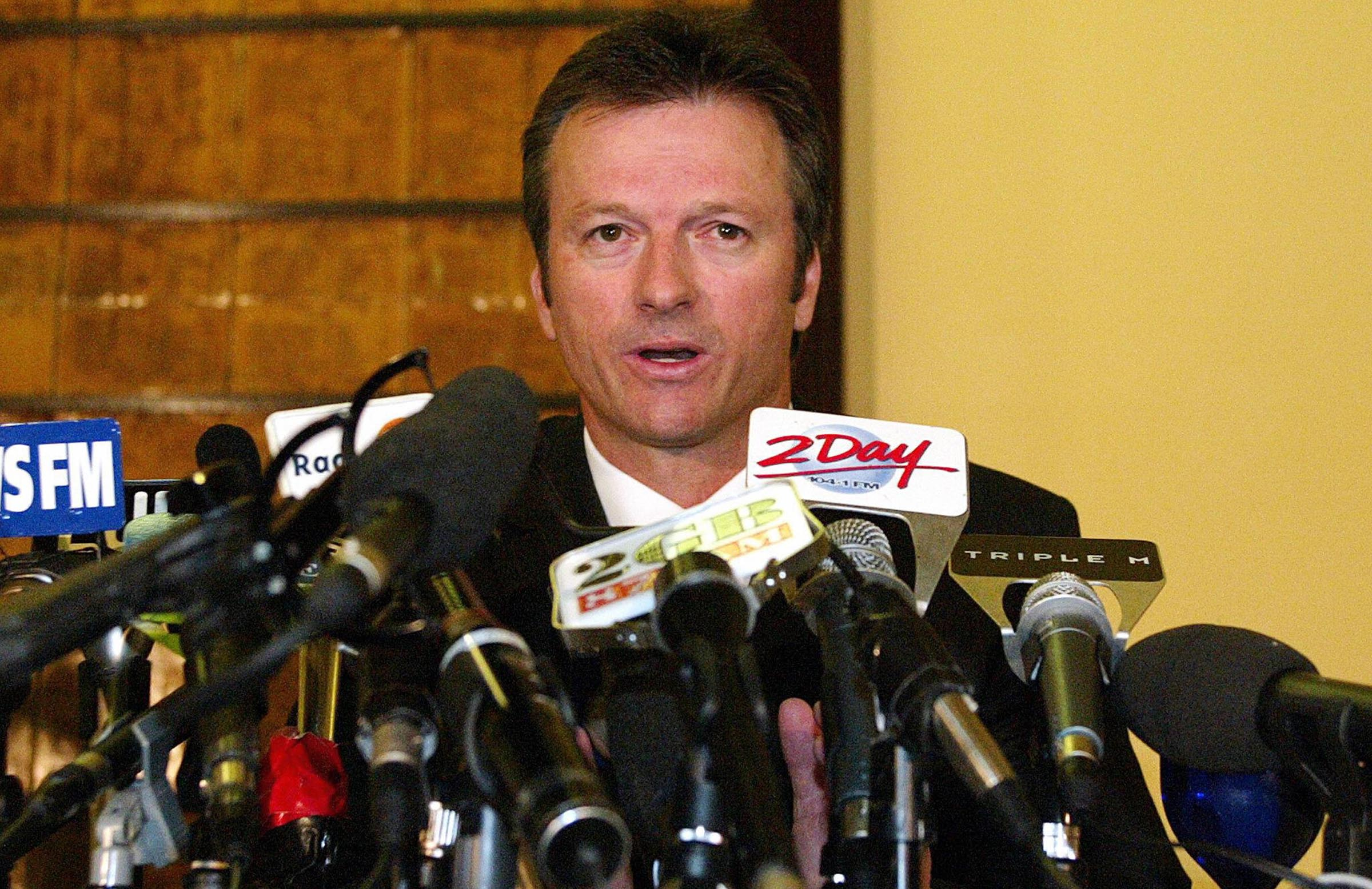 Waugh's final Test series drew massive media interest // Getty