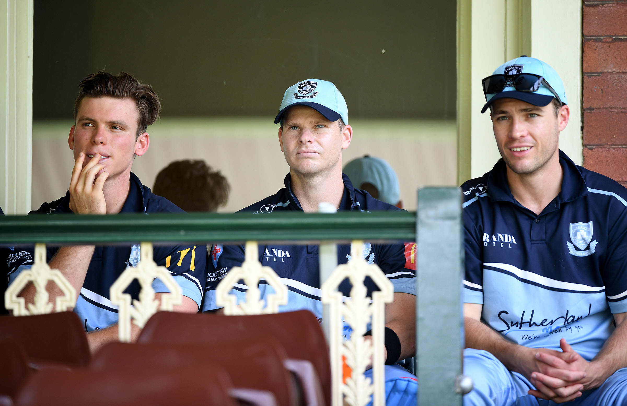 Smith was his Sutherland teammates // AAP