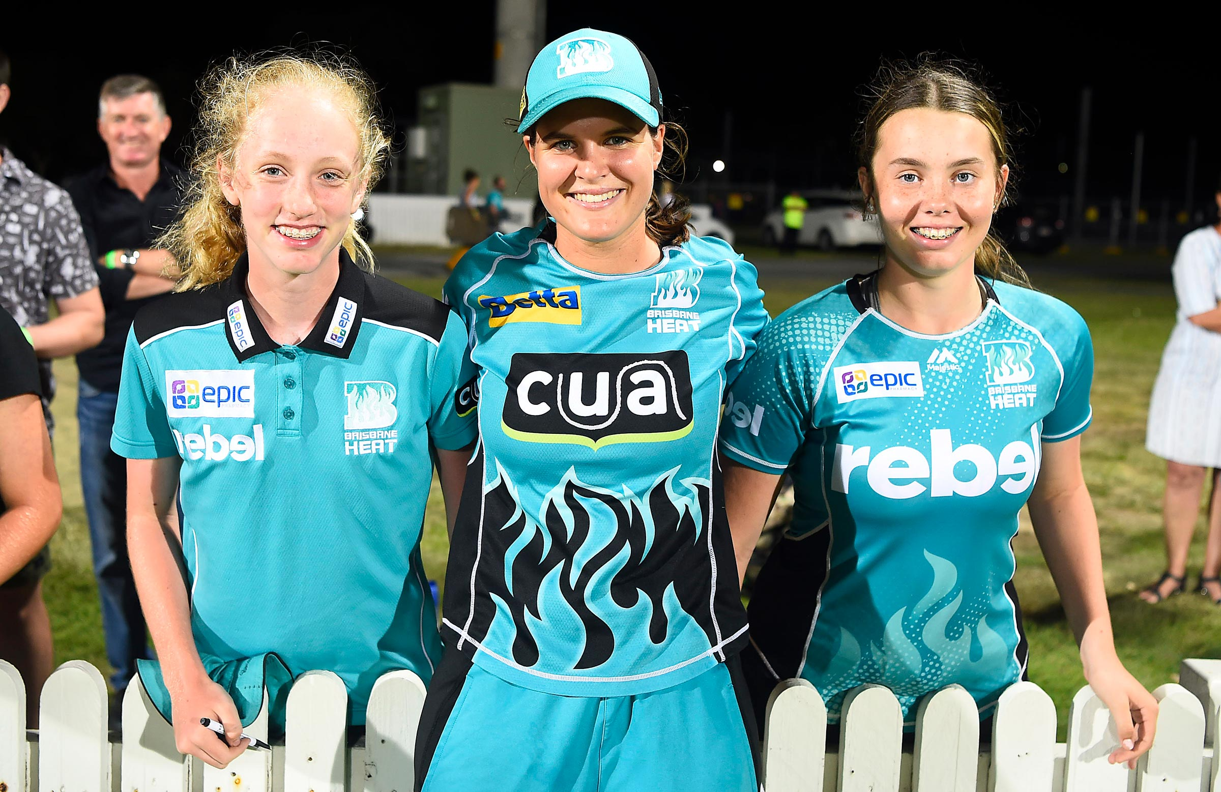 Dooley meets the fans after her match-winning display in Mackay // Getty