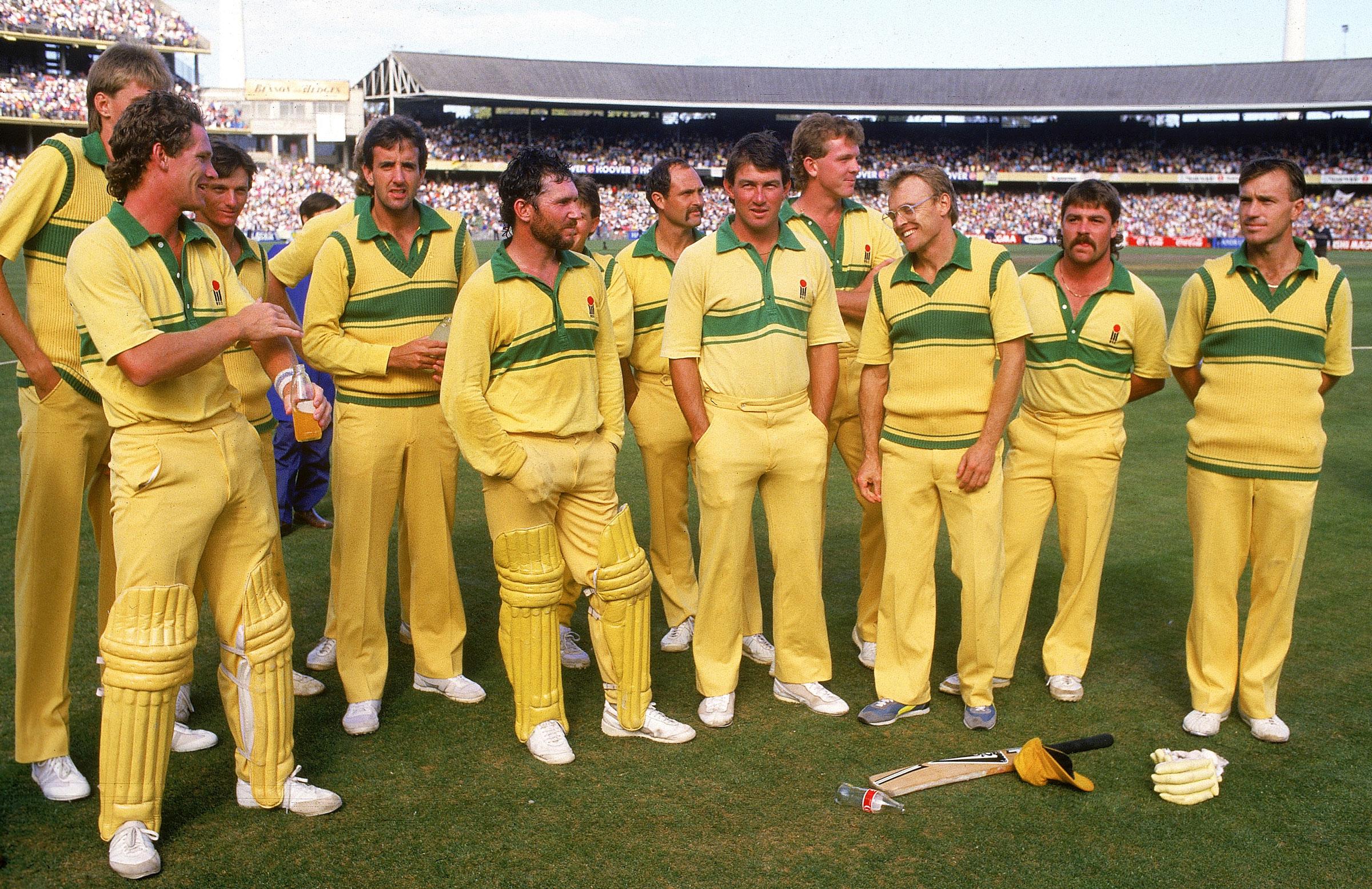 Australia's ODI side in 1986 // Getty Images