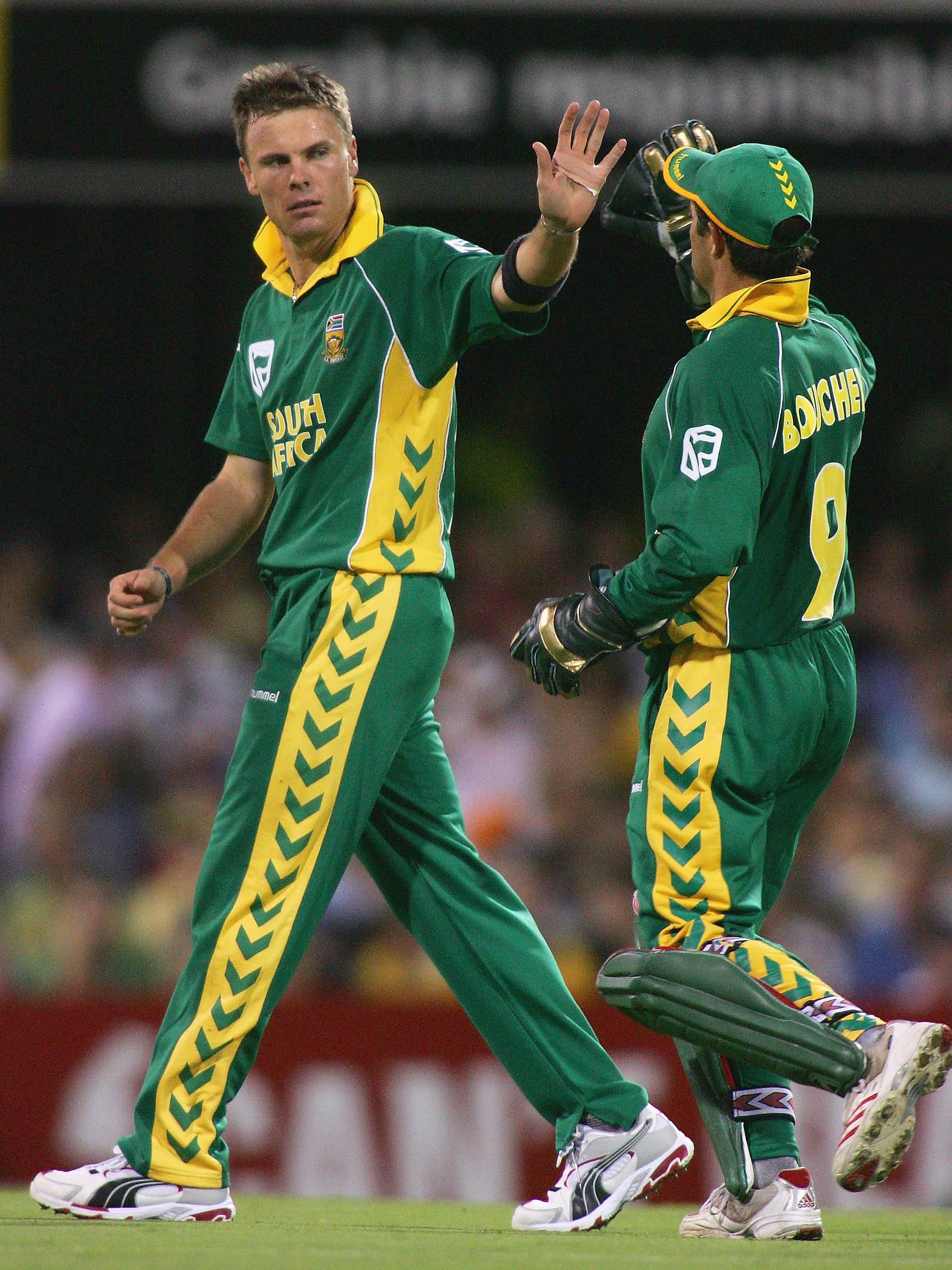 Botha on South Africa's tour of Australia in 2005-06 // Getty