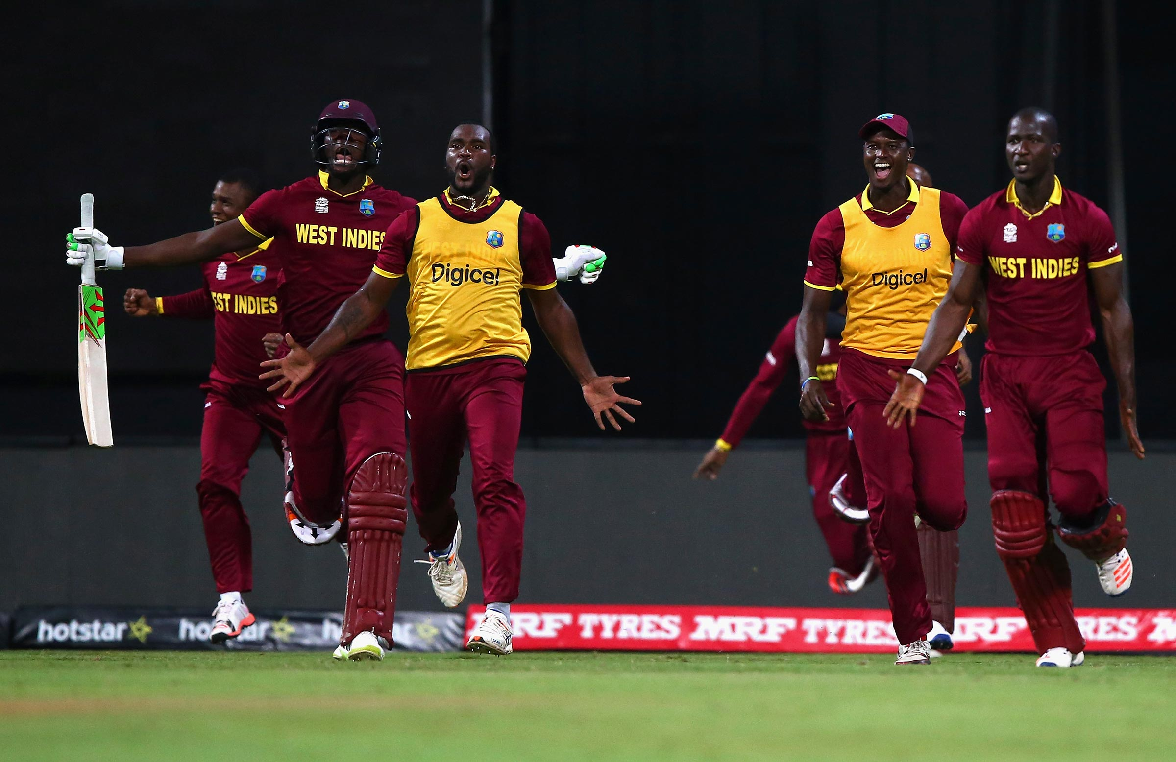 The Windies will defend their 2016 title // Getty