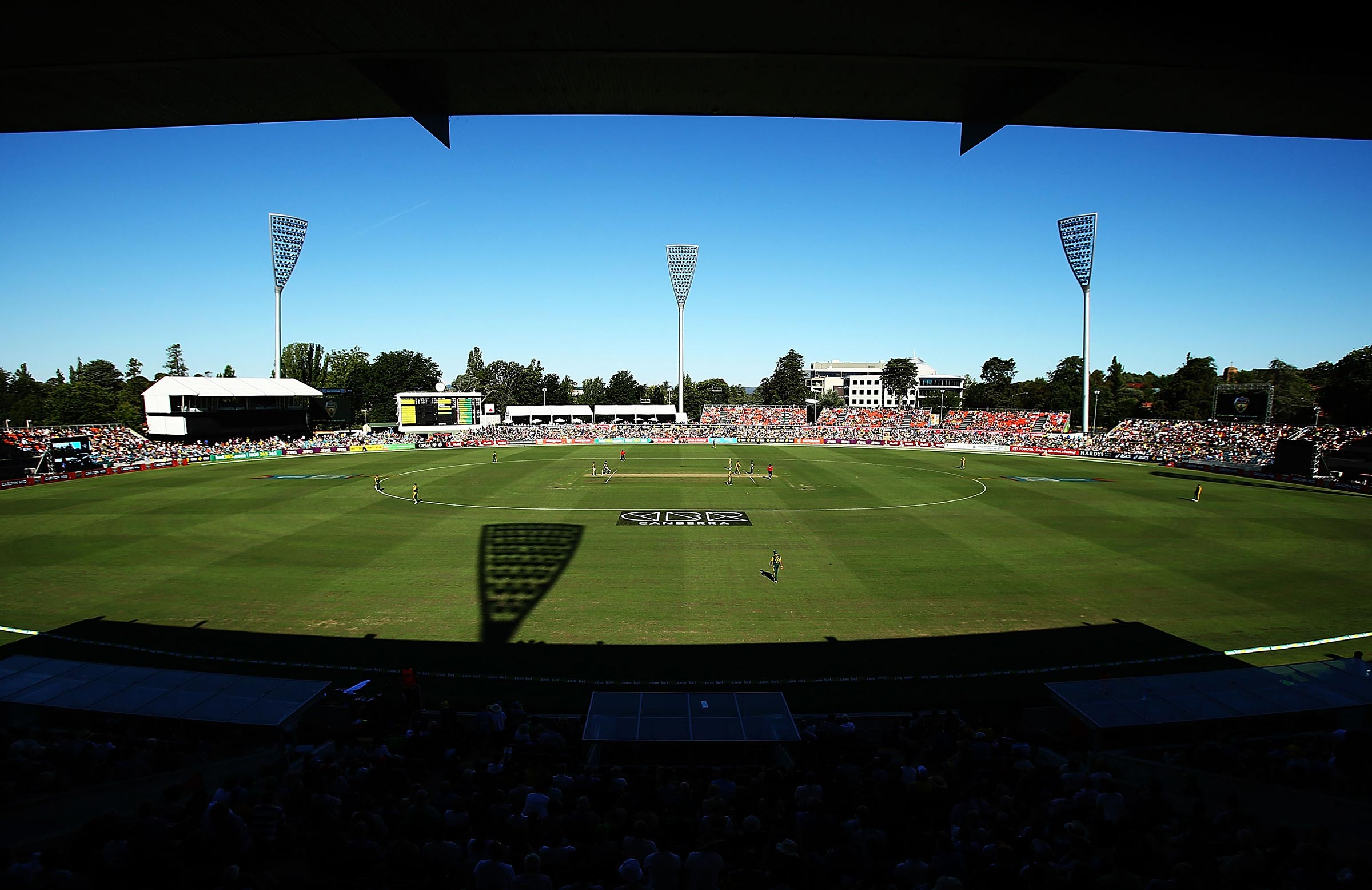 Manuka Oval in Canberra will host a Test for the first time // Getty