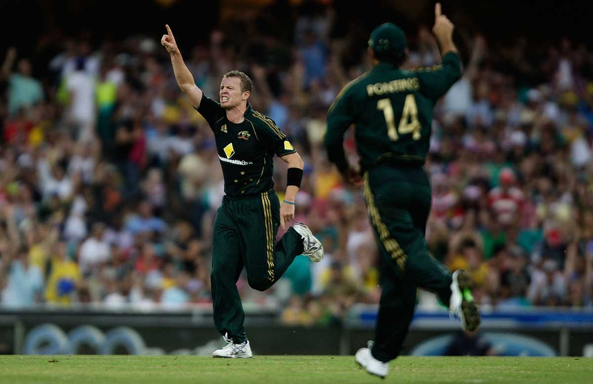 Siddle's last ODI was in 2010 // Getty