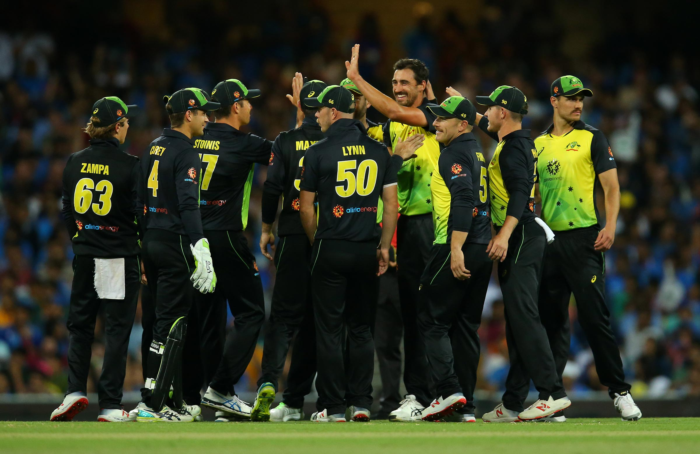 Australia will begin their tournament at the SCG // Getty