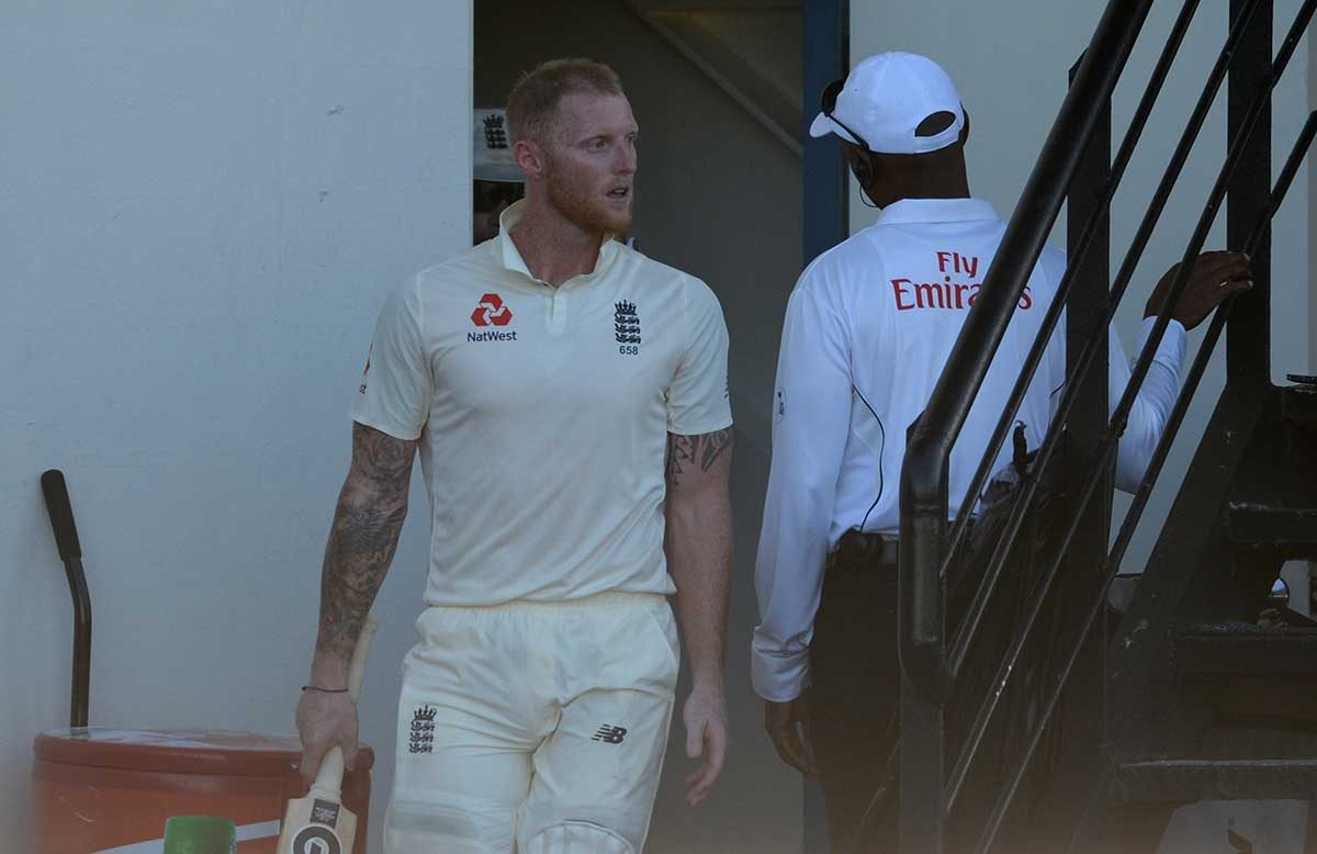 Stokes gets word from the fourth official // Getty