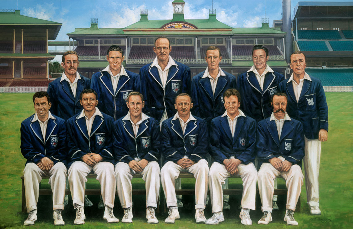 Murdoch (bottom right) pictured in a team of some the greatest ever NSW players // Getty Images