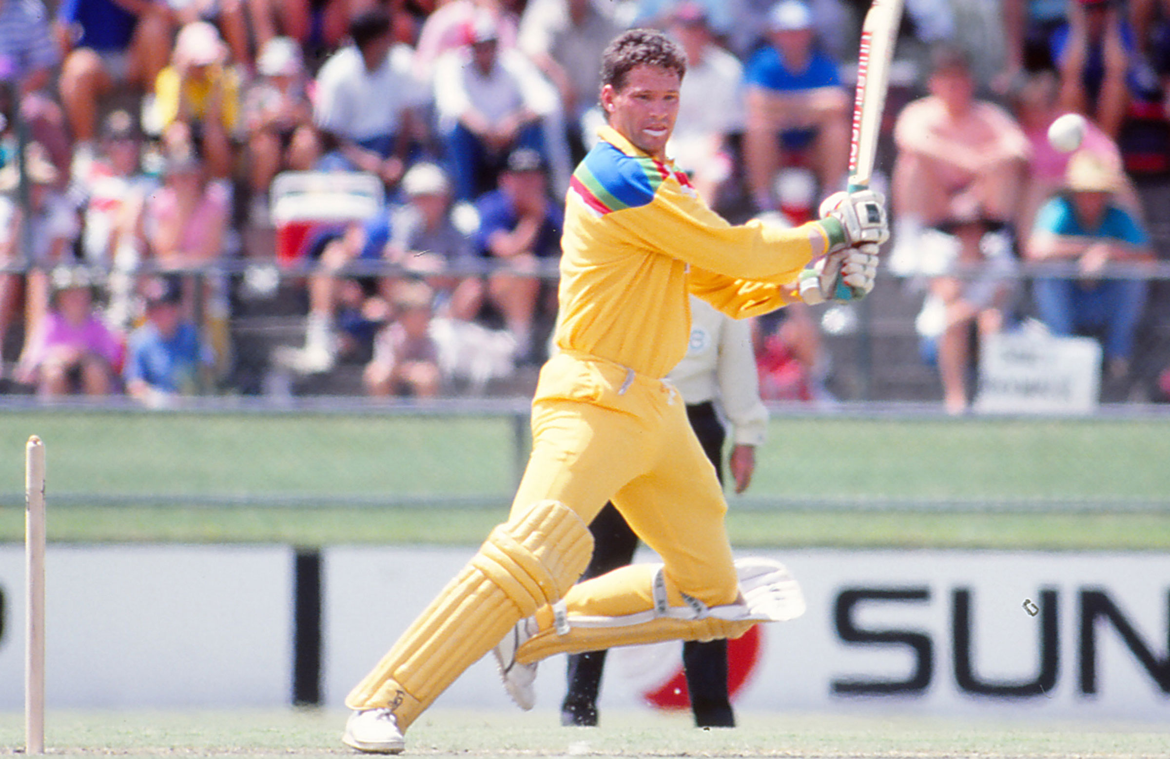 Dean Jones in action for Australia // Getty Images