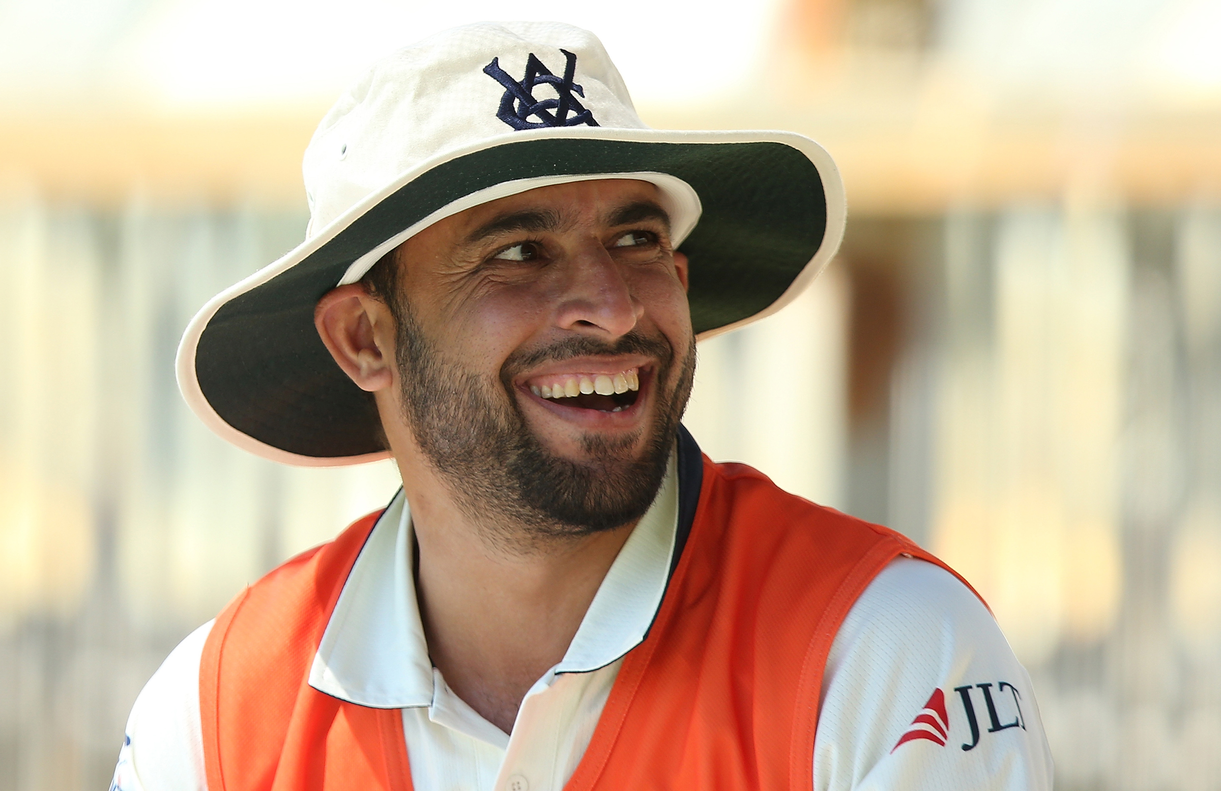 Fawad took 156 Sheffield Shield wickets for Victoria // Getty