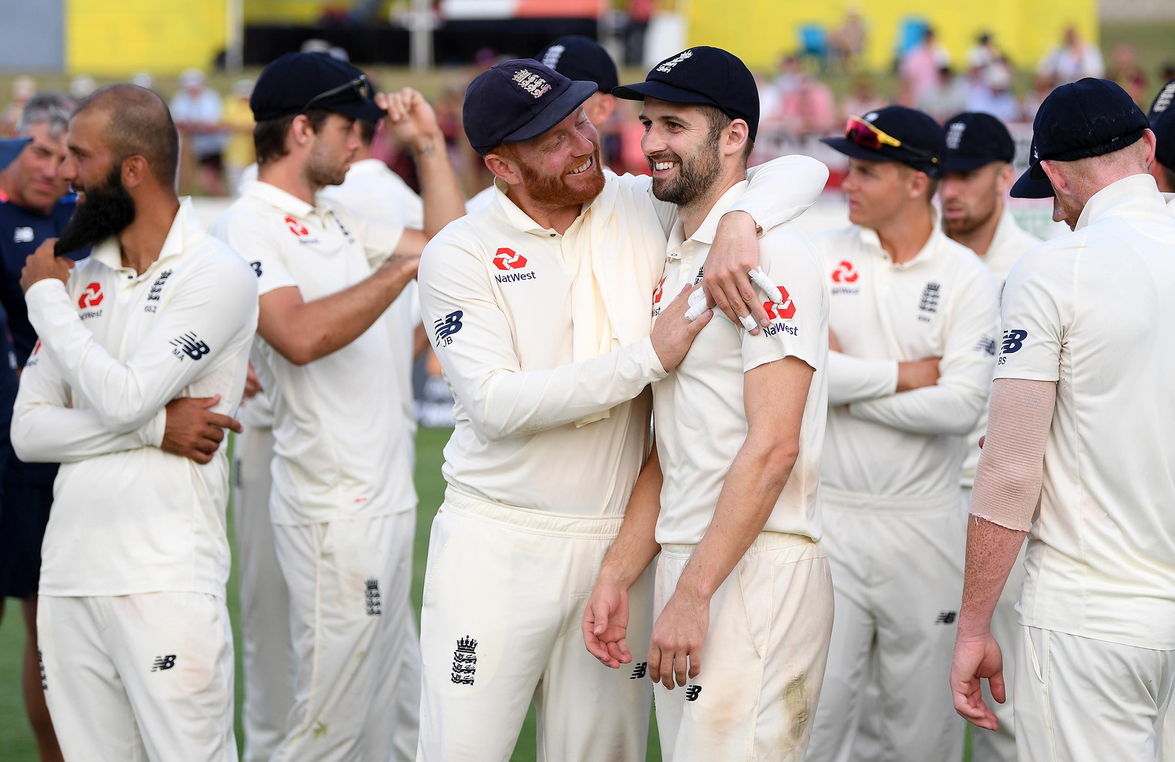 Mark Wood was England's hero in St Lucia // Getty