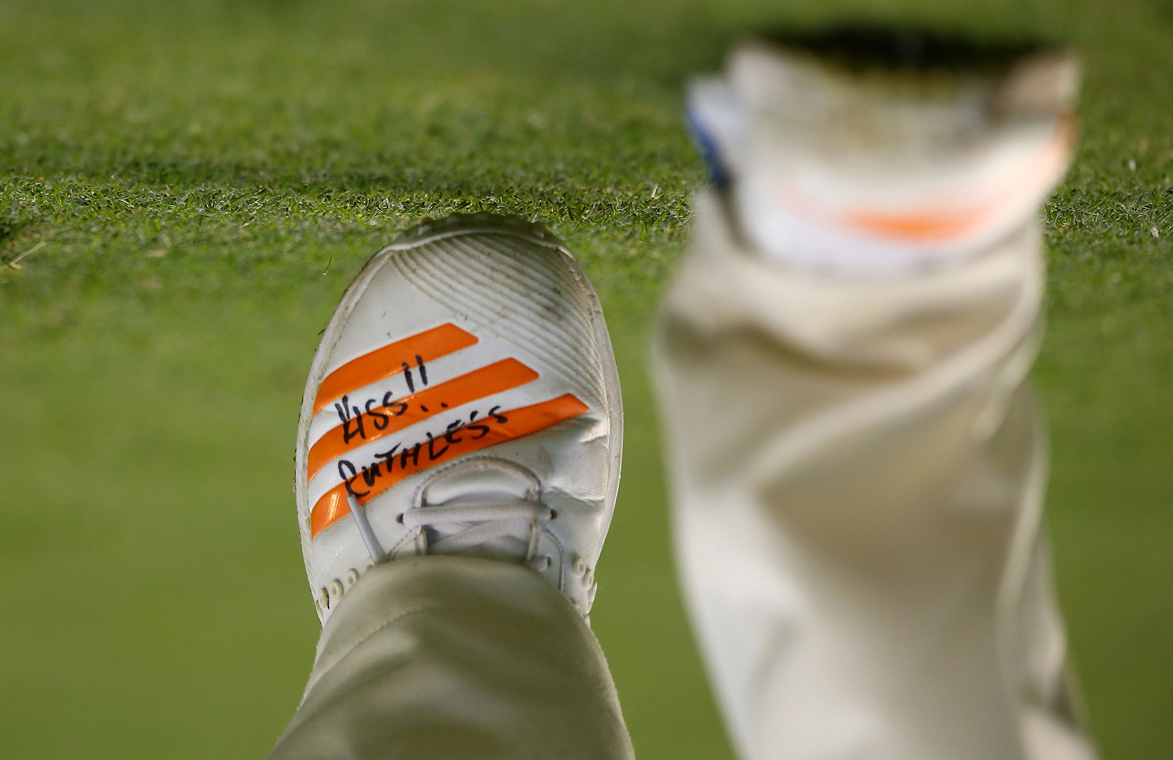 Jhye Richardson's shoes // Getty Images