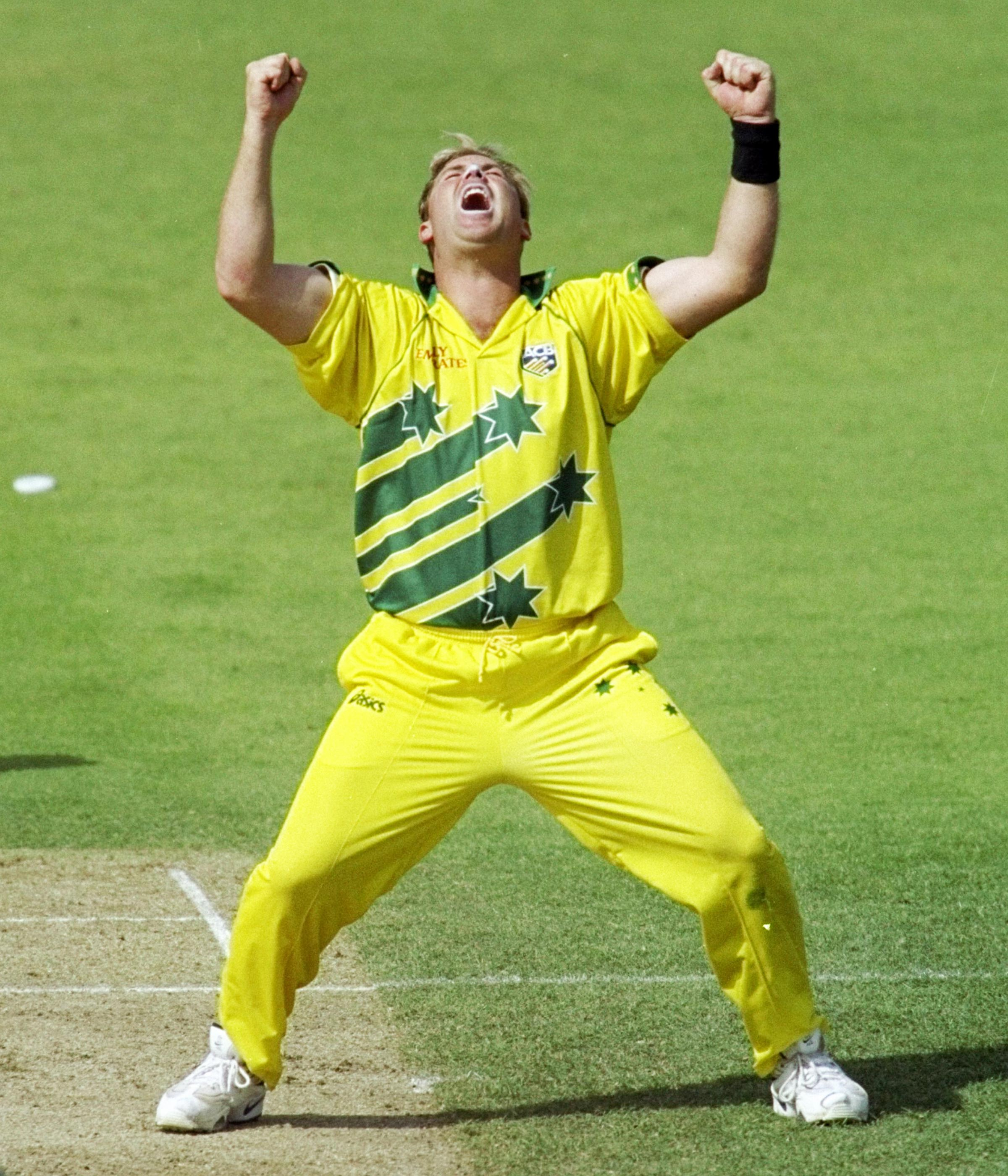 Shane Warne fired Australia's Cup triumph