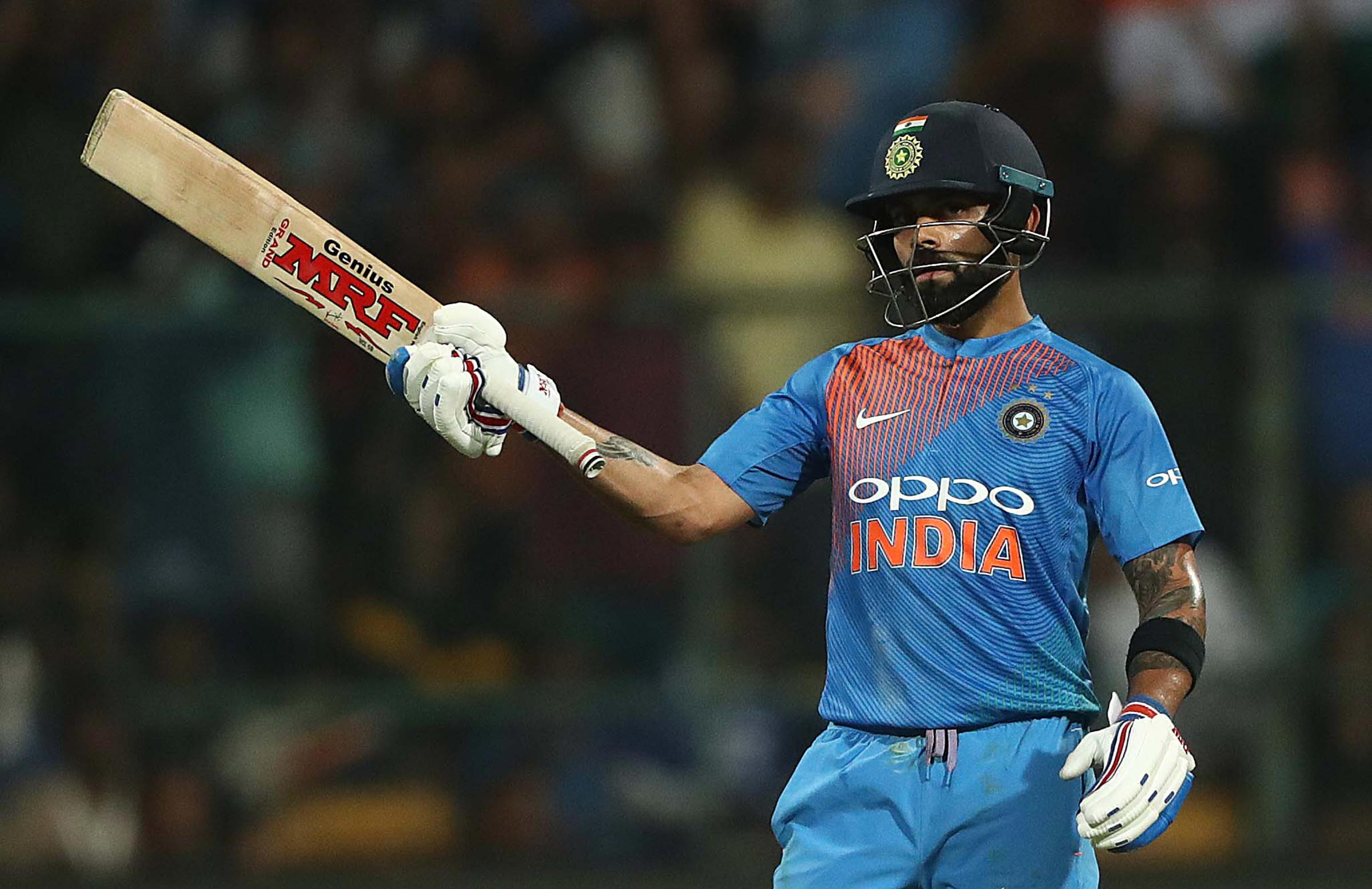 Captain Kohli was at his brilliant best // Getty