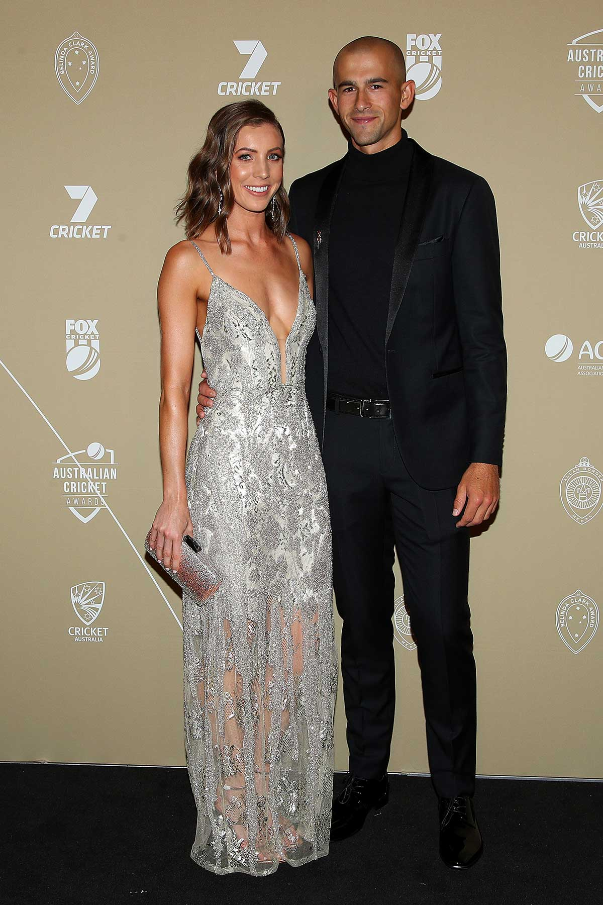 Ashton Agar and Madeleine Hay // Getty