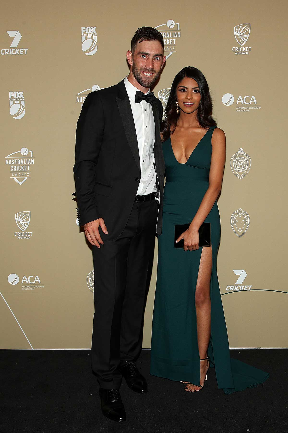 Glenn Maxwell and Vini Raman // Getty