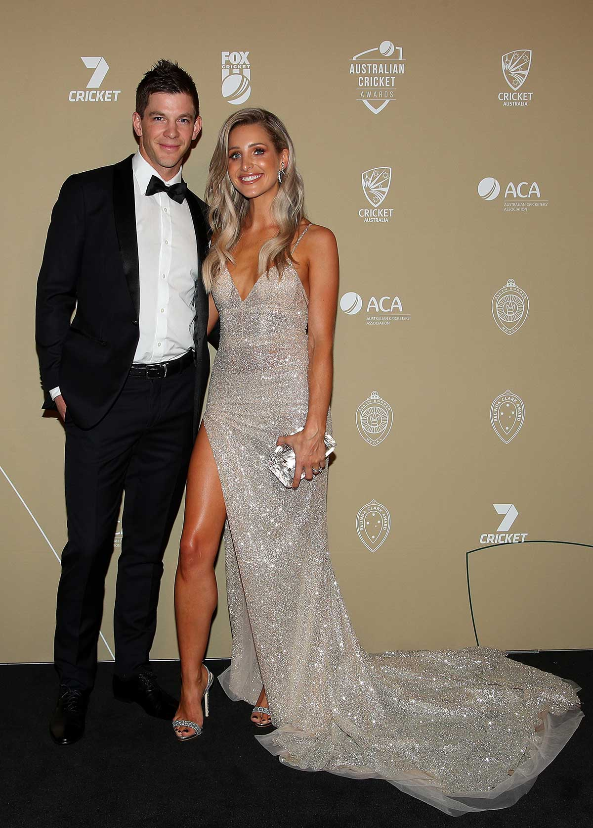 Australia Test captain Tim Paine and wife Bonnie // Getty