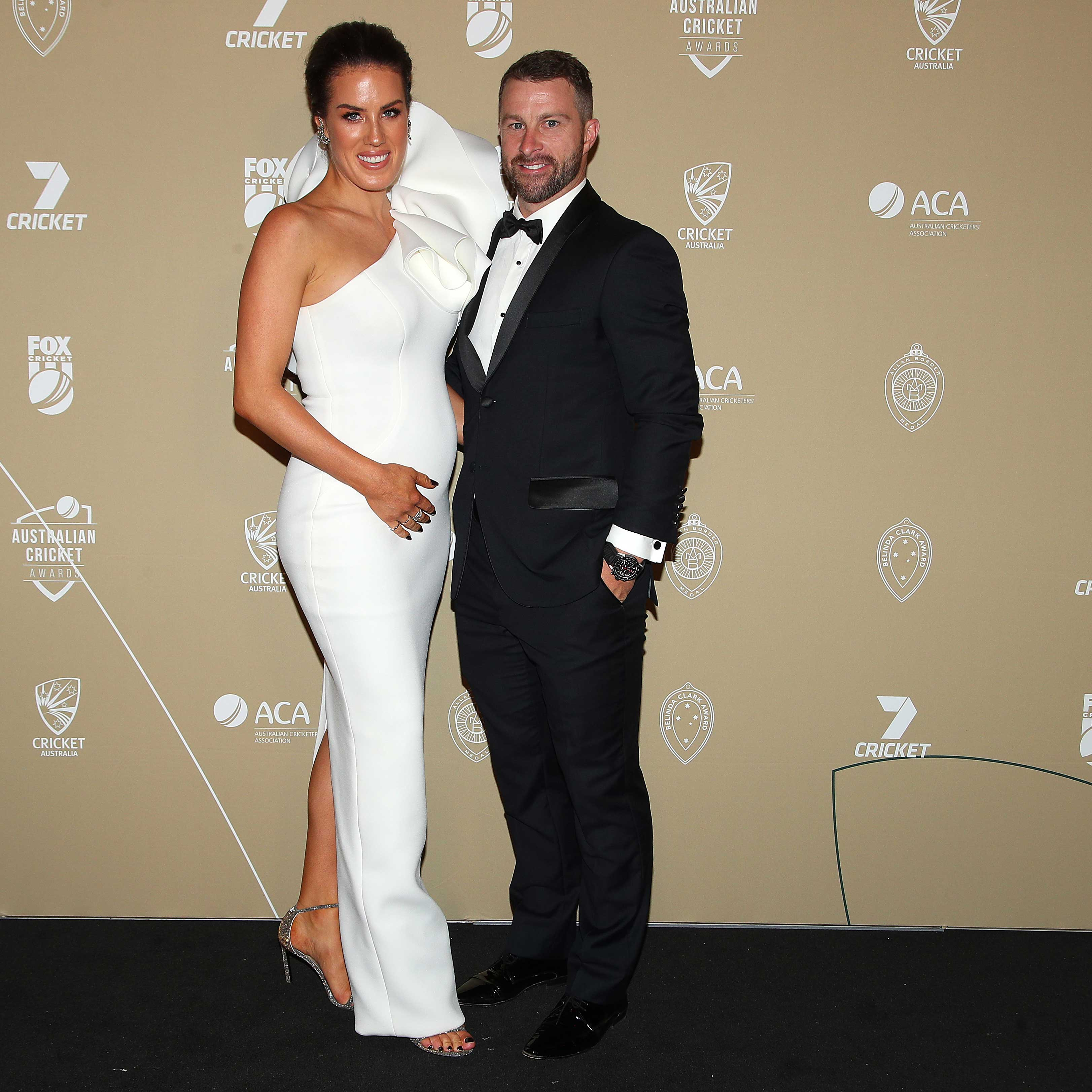 Matthew Wade and Julia Barry // Getty